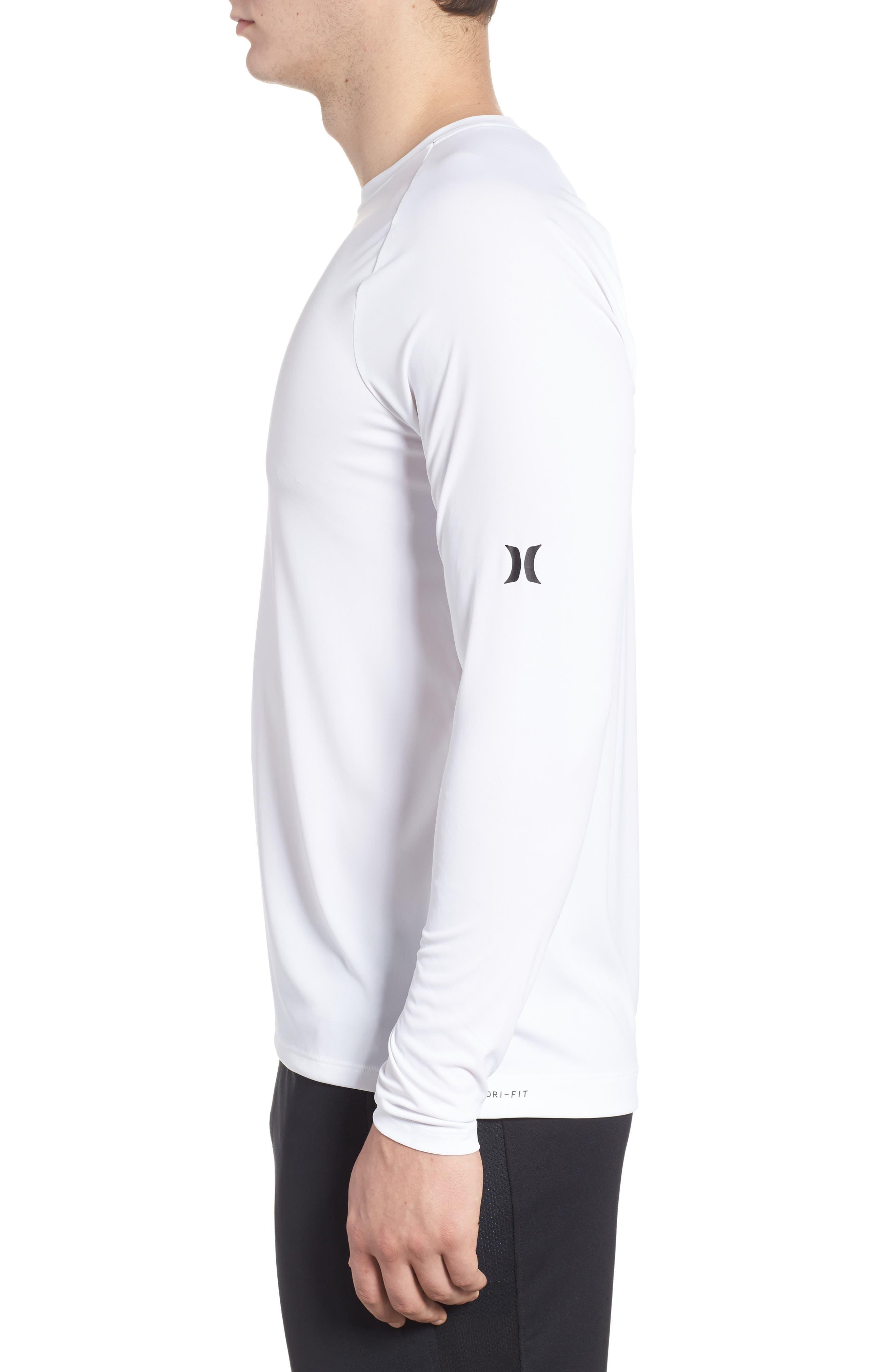 Icon Surf Shirt,                             Alternate thumbnail 3, color,                             White