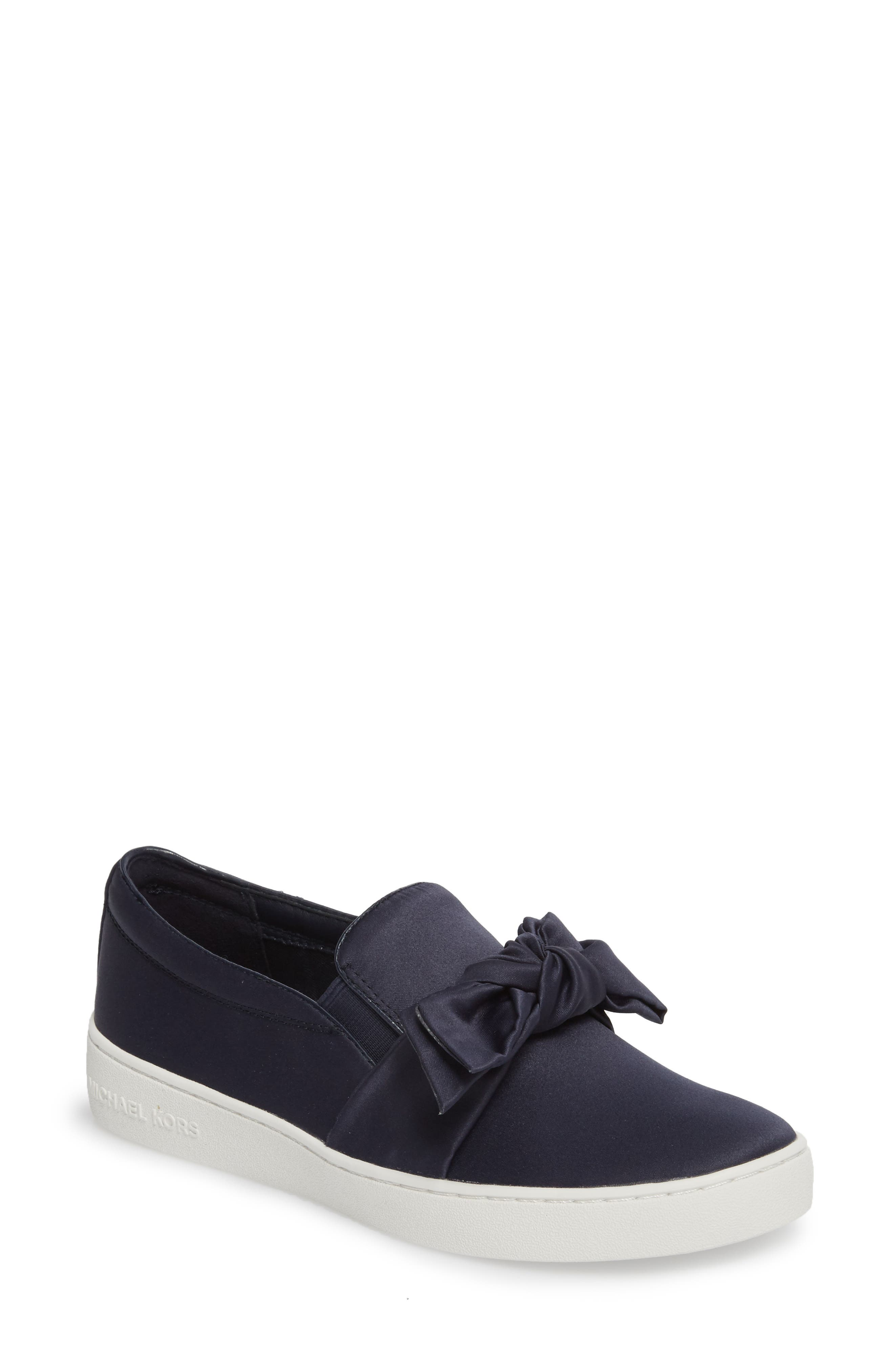 Willa Sneaker,                         Main,                         color, Admiral Satin