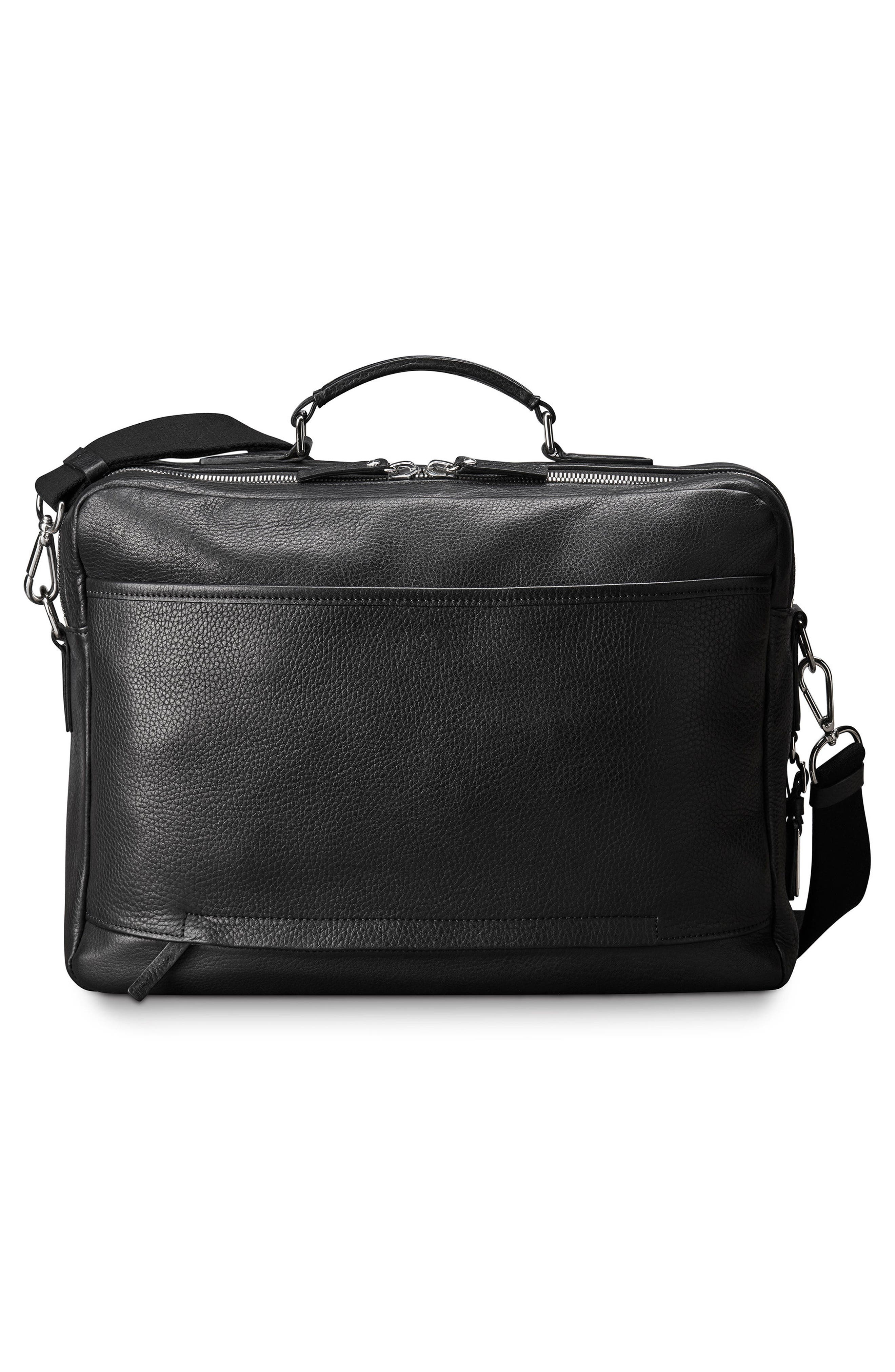 Canfield Briefcase,                             Alternate thumbnail 2, color,                             Black