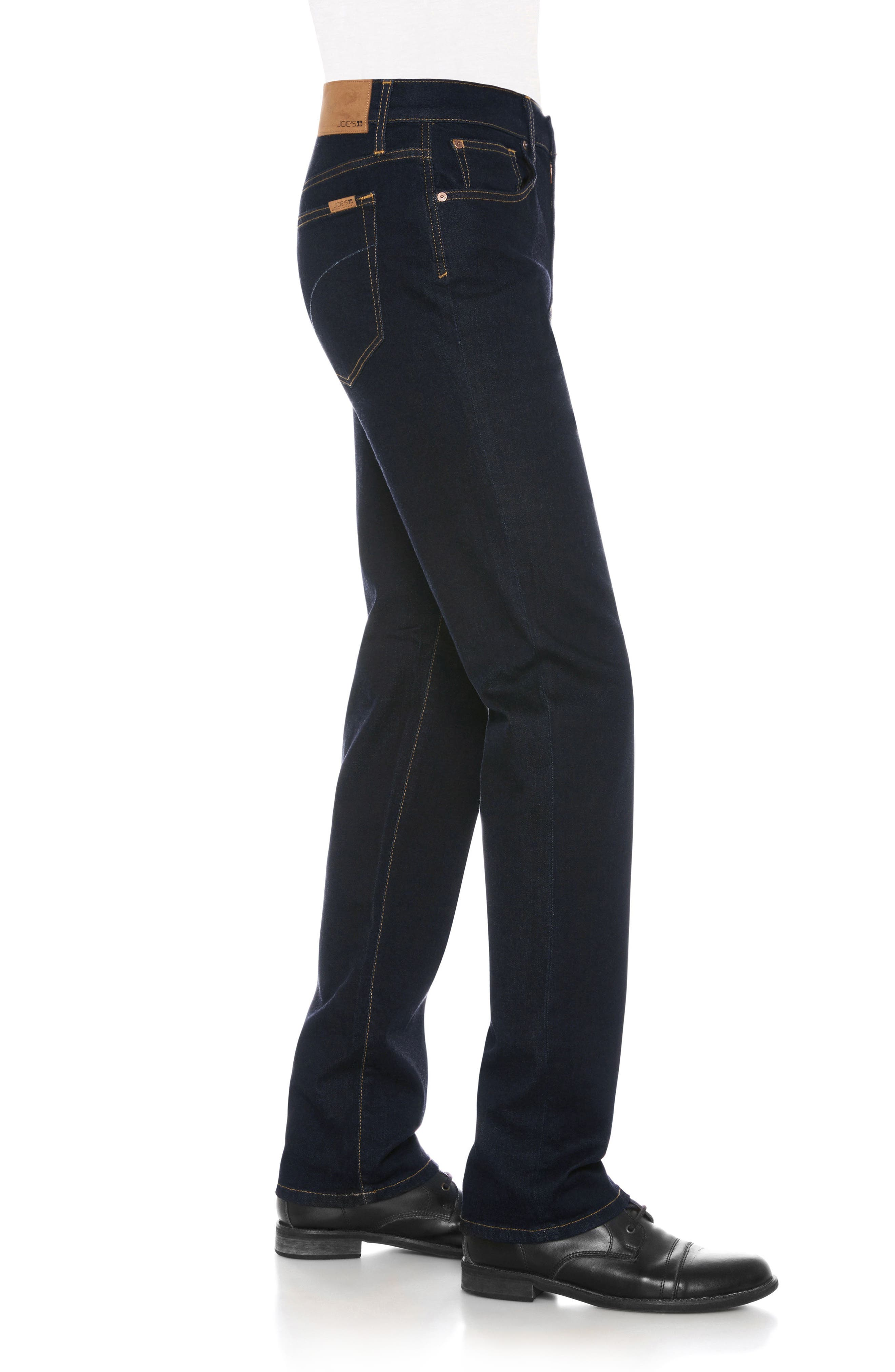Classic Straight Fit Jeans,                             Alternate thumbnail 3, color,                             Jazz