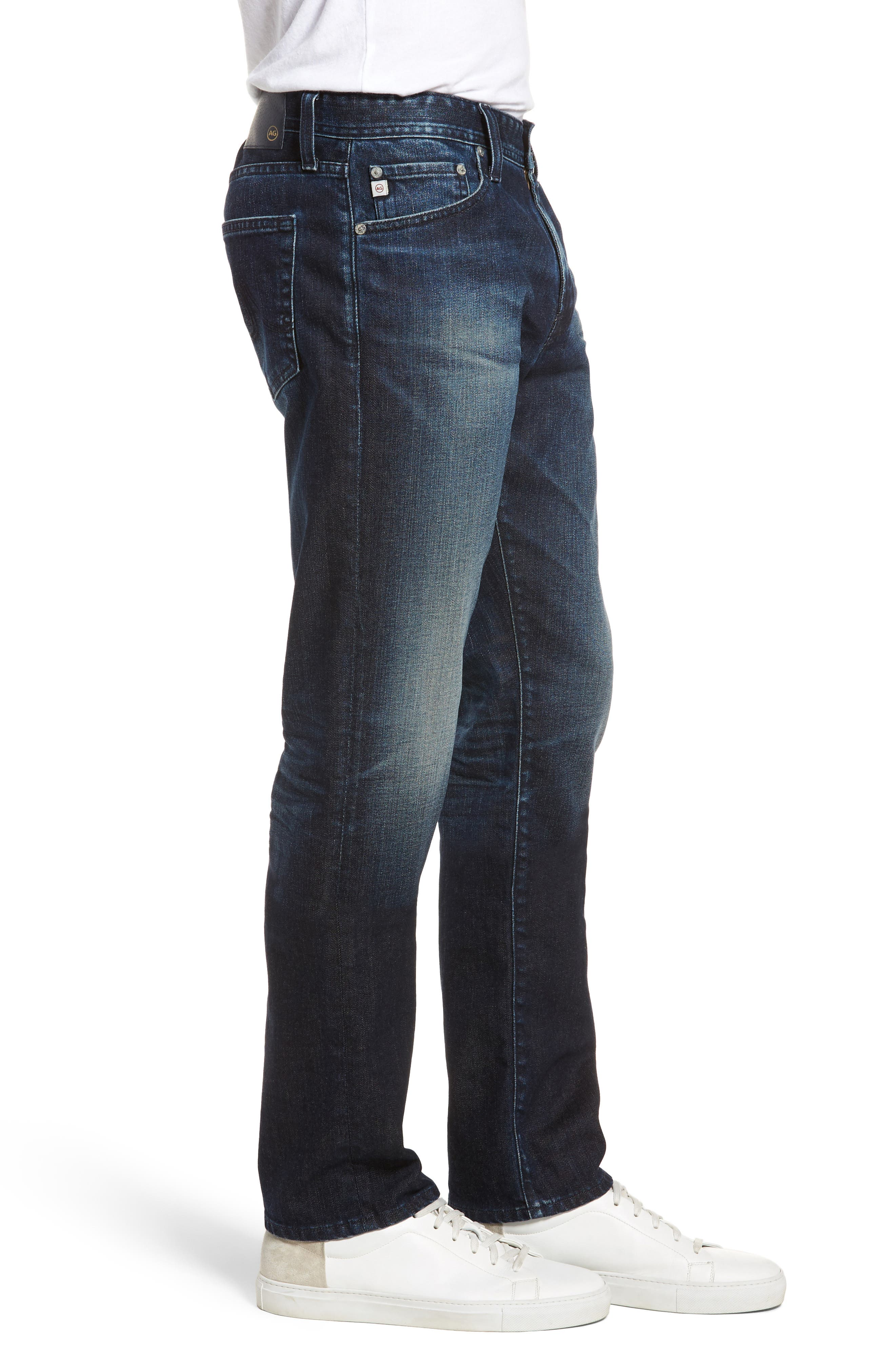 Everett Slim Straight Fit Jeans,                             Alternate thumbnail 3, color,                             3 Years Trentwood