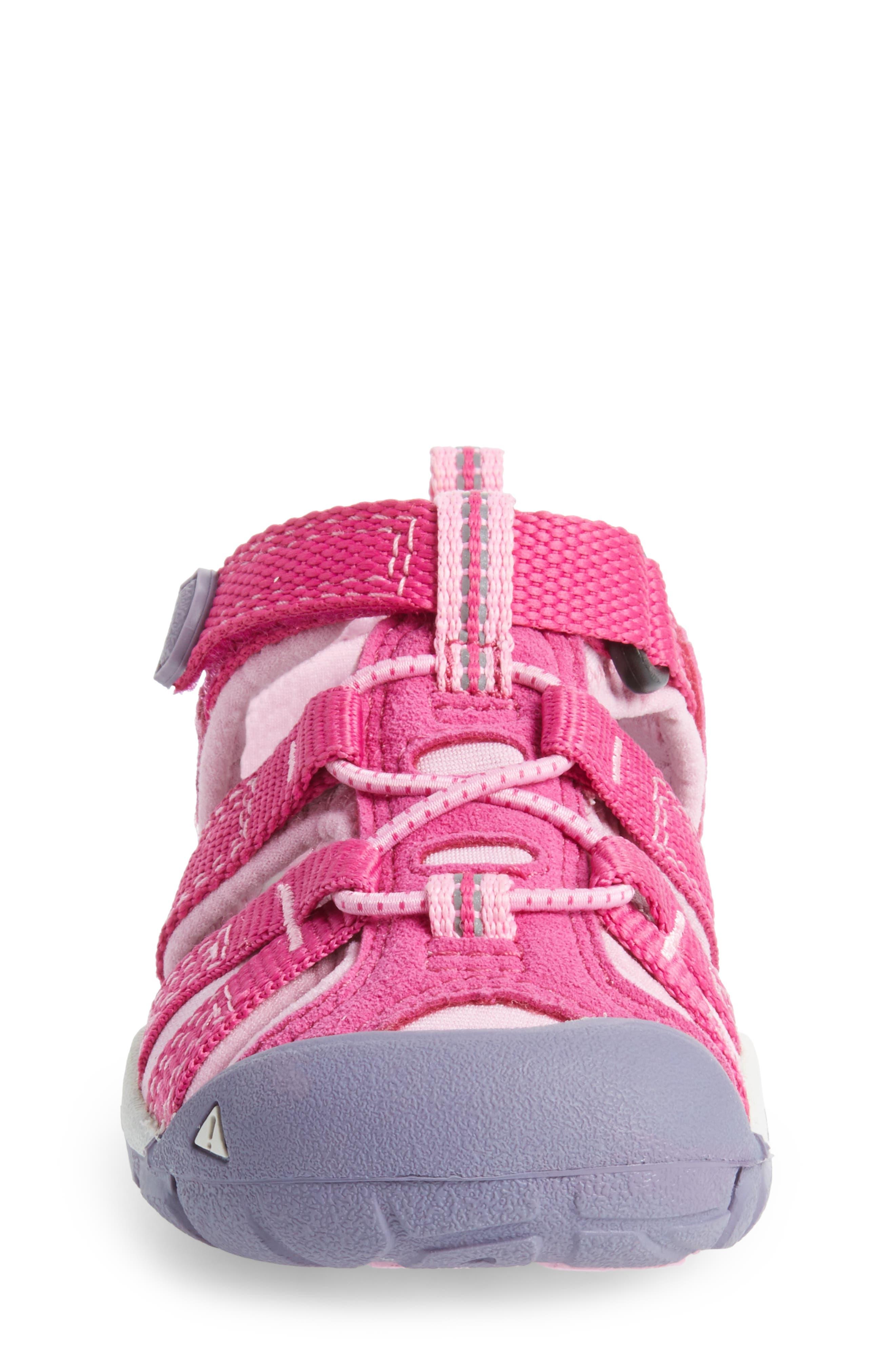 'Seacamp II' Water Friendly Sandal,                             Alternate thumbnail 4, color,                             Very Berry/ Lilac Chiffon