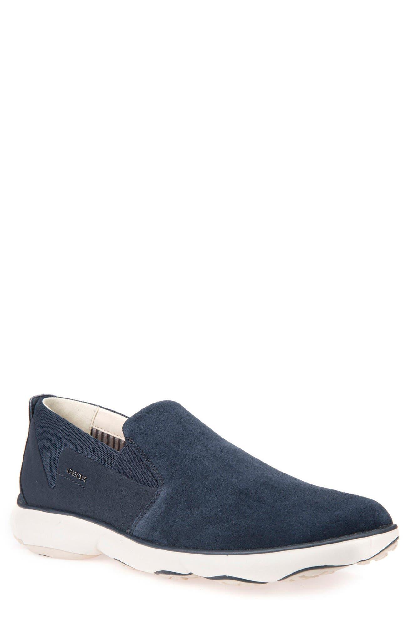 Nebula 44 Slip-On Sneaker,                         Main,                         color, Navy