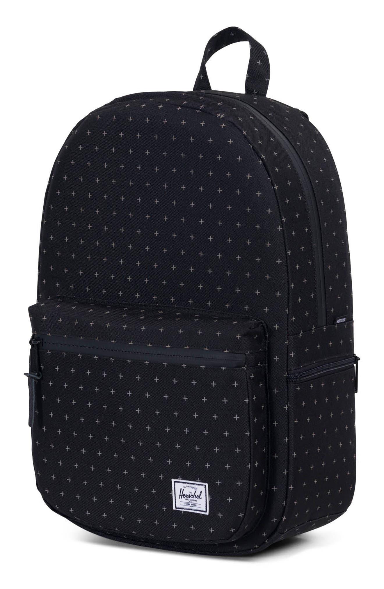 Harrison Backpack,                             Alternate thumbnail 4, color,                             Black Gridlock