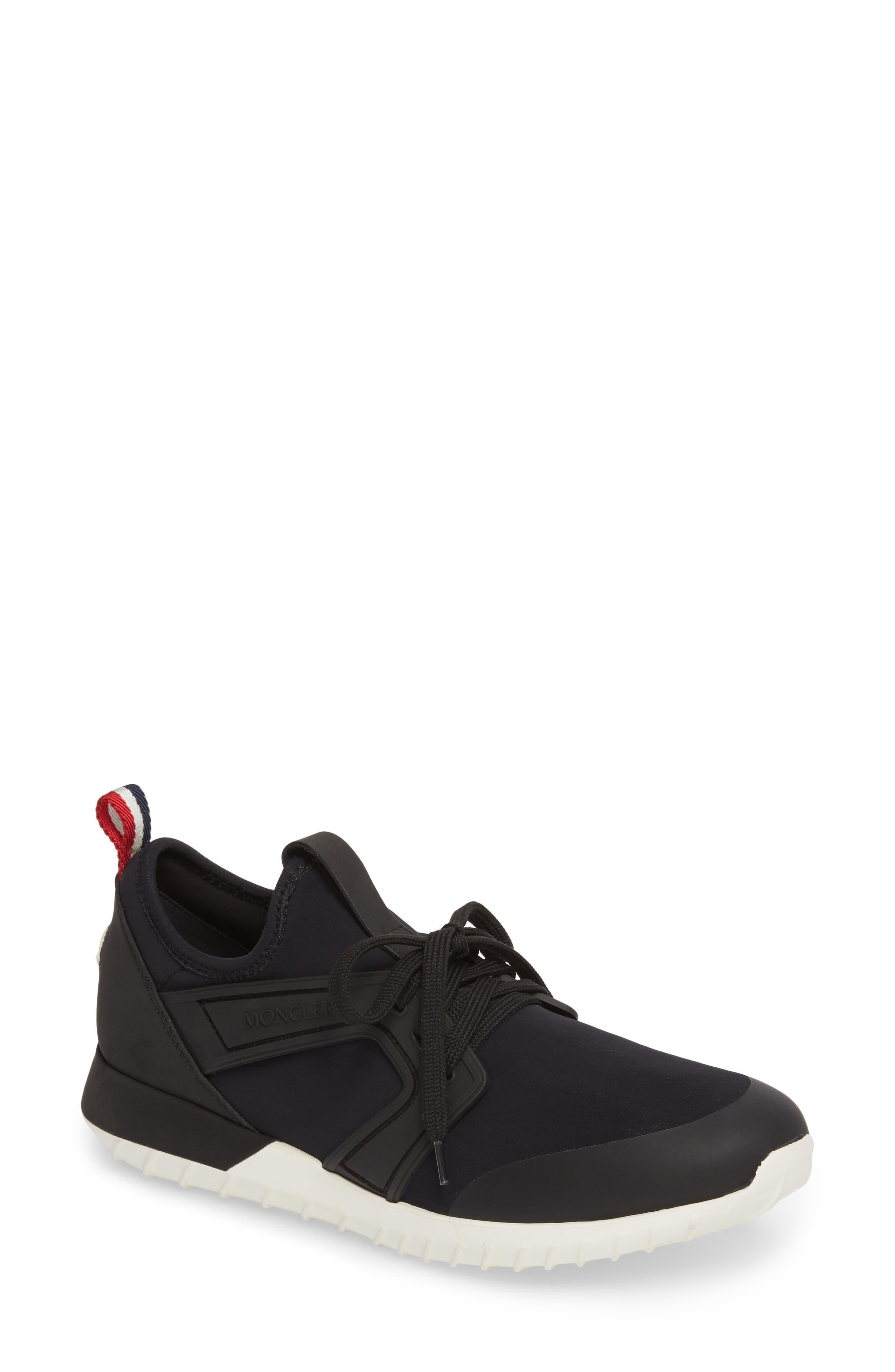 Moncler Meline Lace-Up Sneaker (Women)