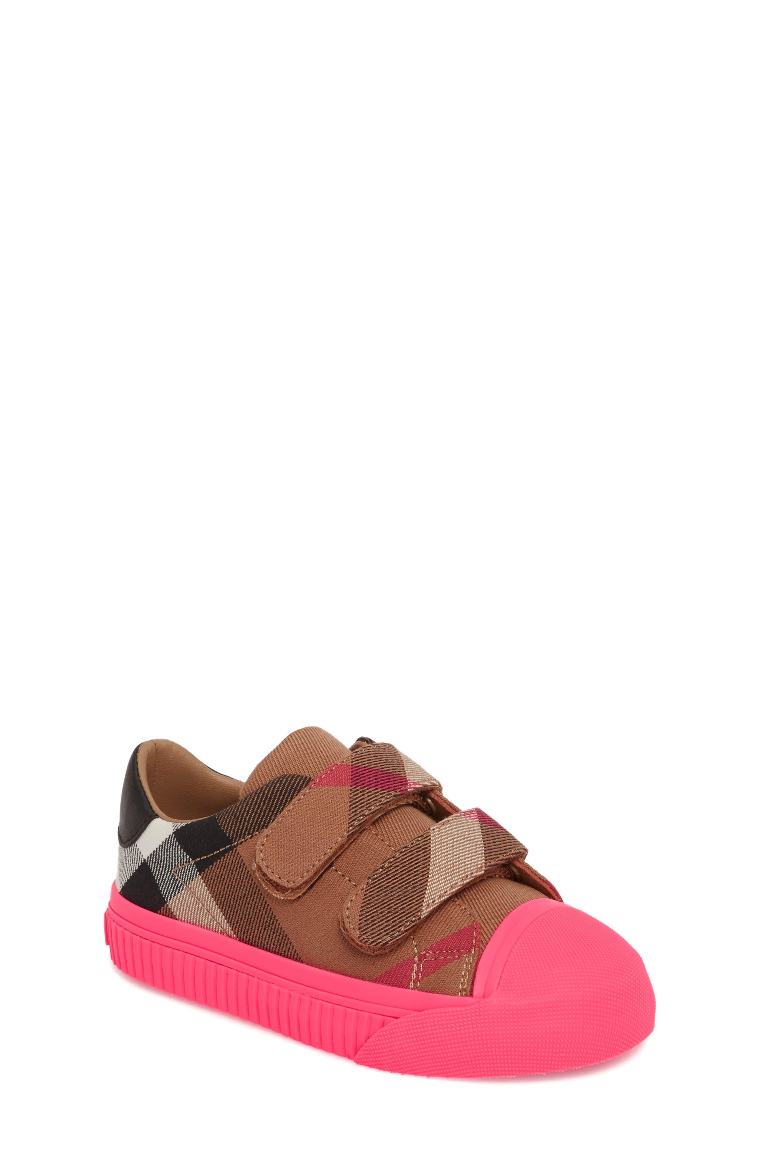 Belside Sneaker,                         Main,                         color, Classic/ Neon Pink