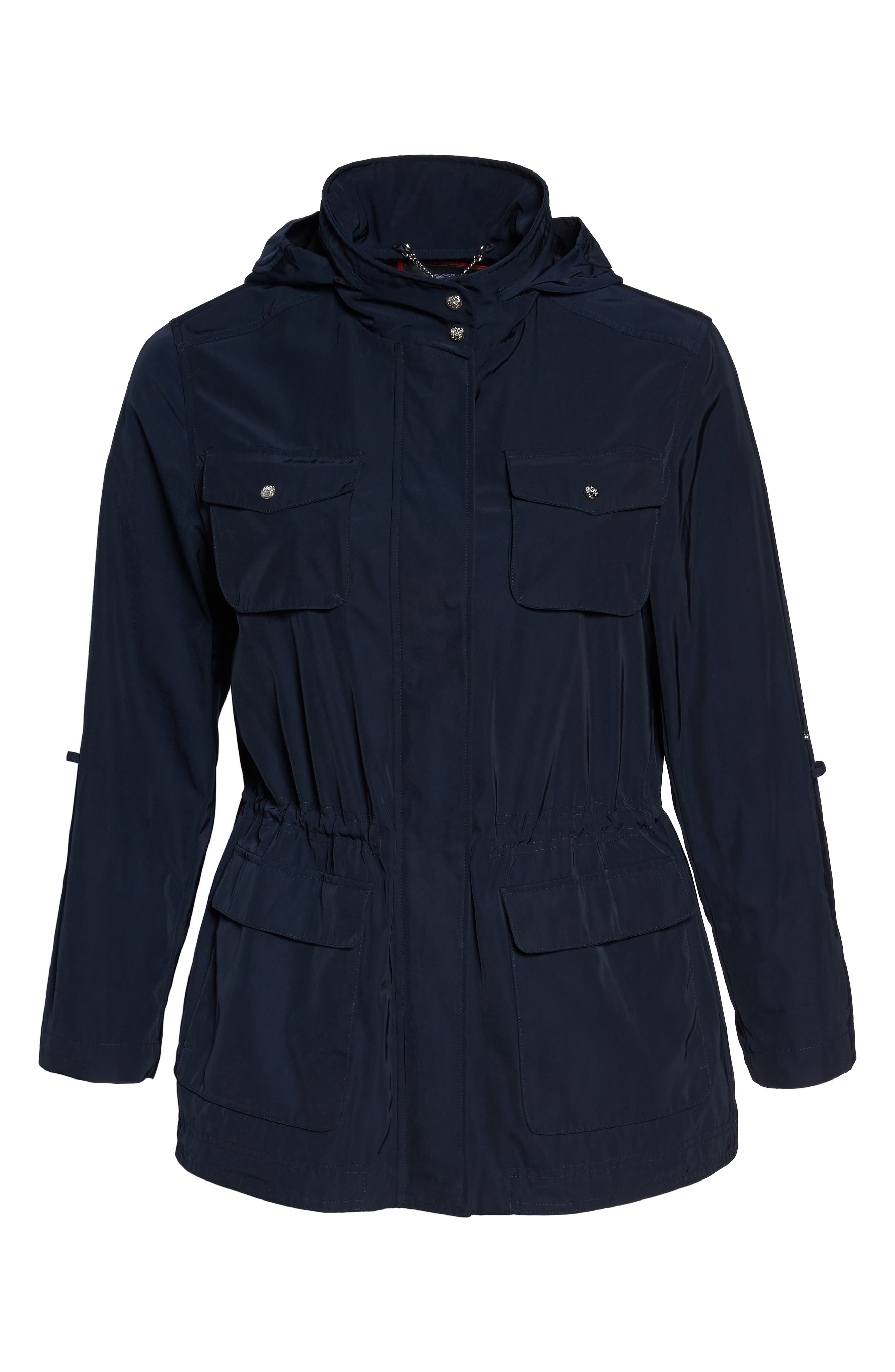 Americana Parka,                             Alternate thumbnail 7, color,                             Navy