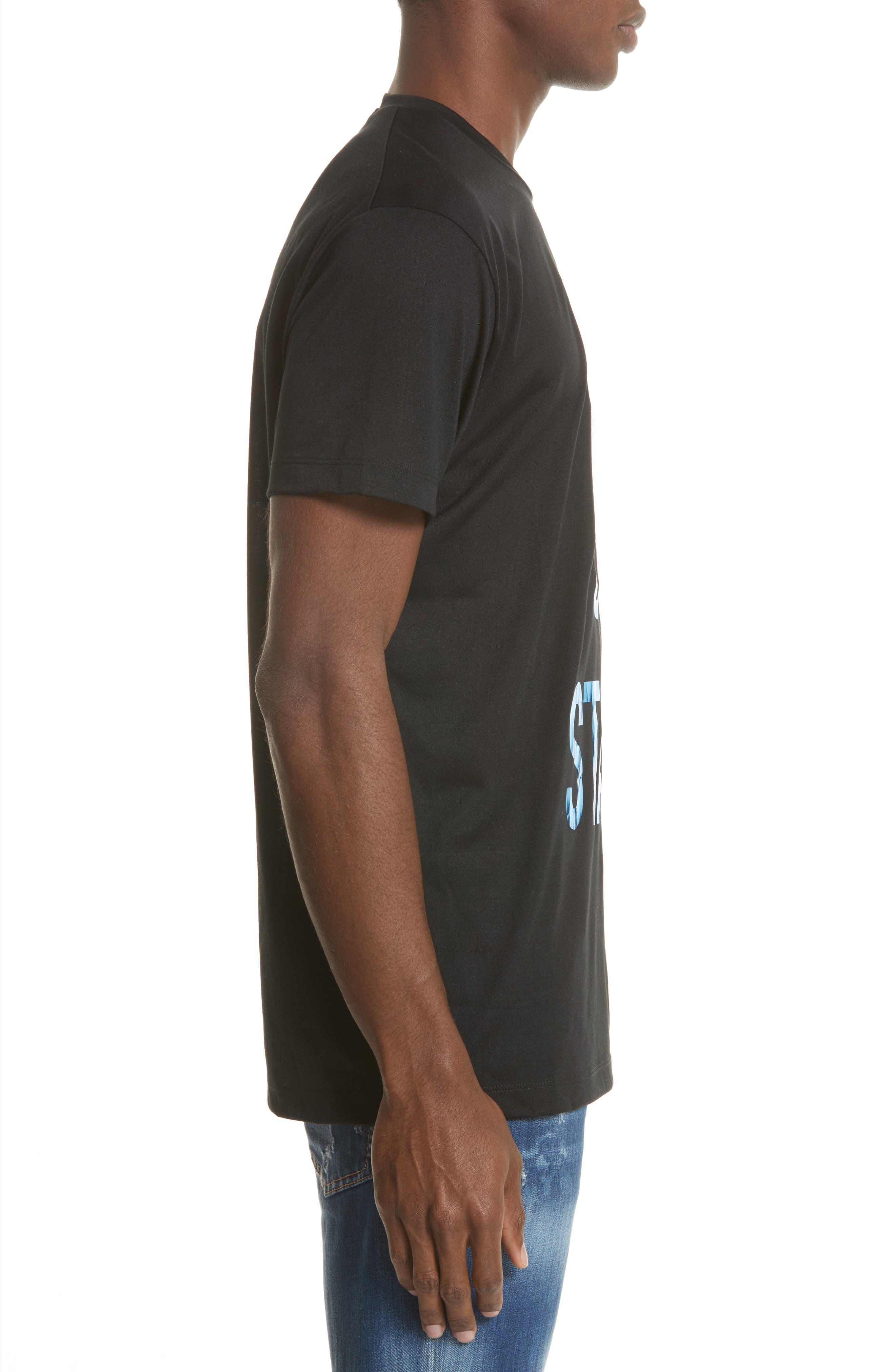 City of Stars Graphic T-Shirt,                             Alternate thumbnail 3, color,                             Black