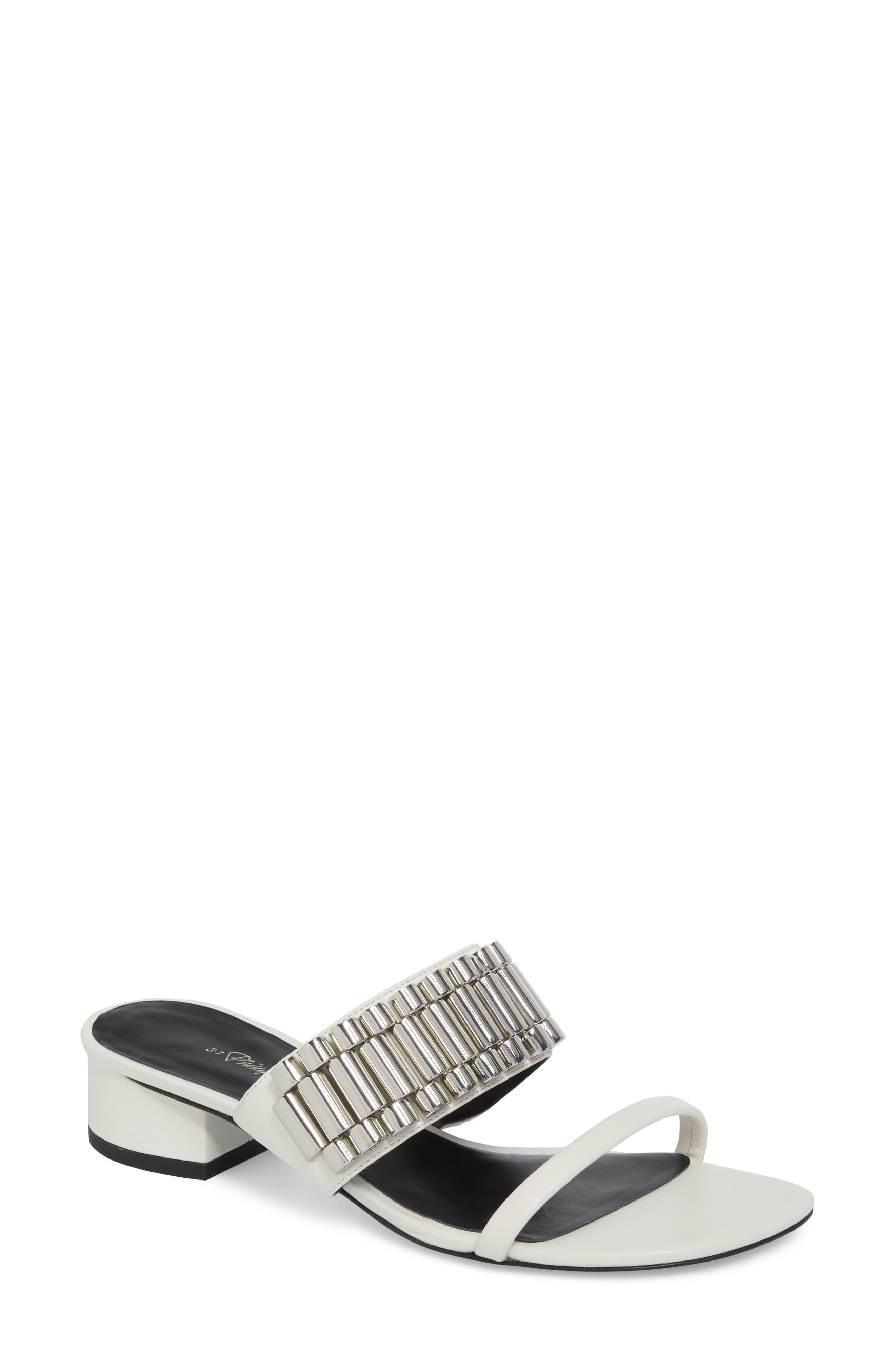 3.1 Phillip Lim Drum Embellished Sandal (Women)