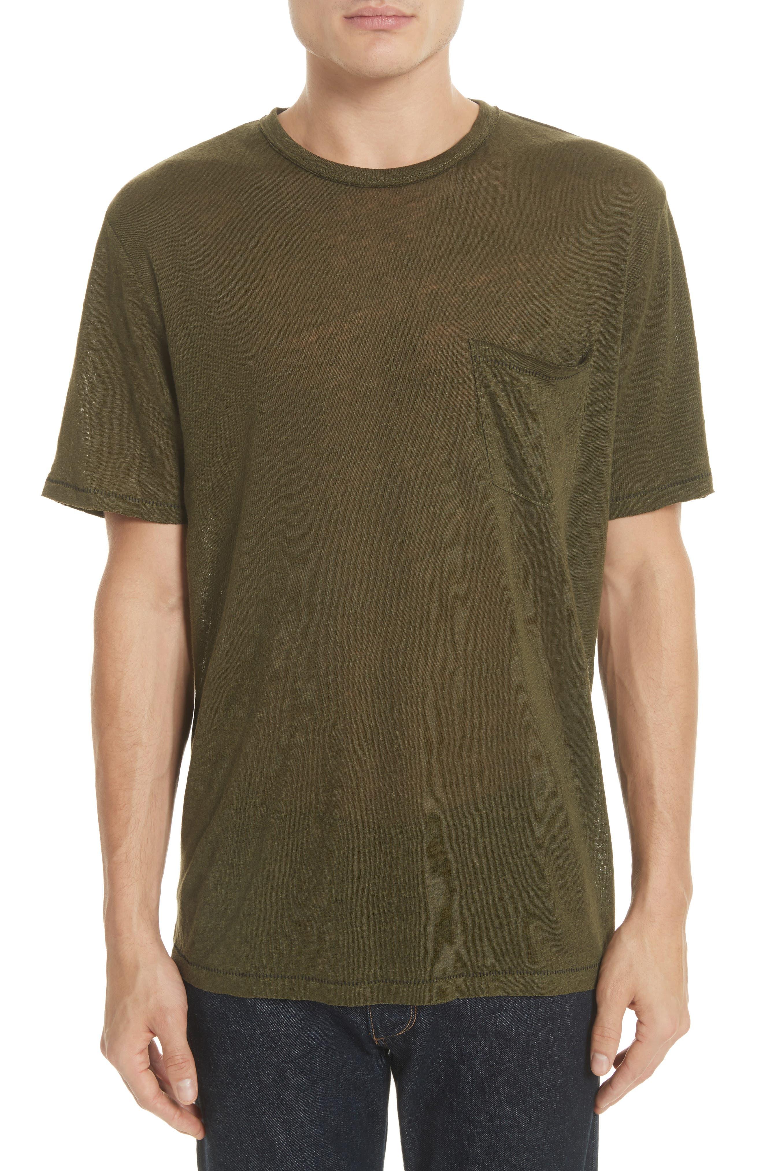 Owen T-Shirt,                             Main thumbnail 1, color,                             Army