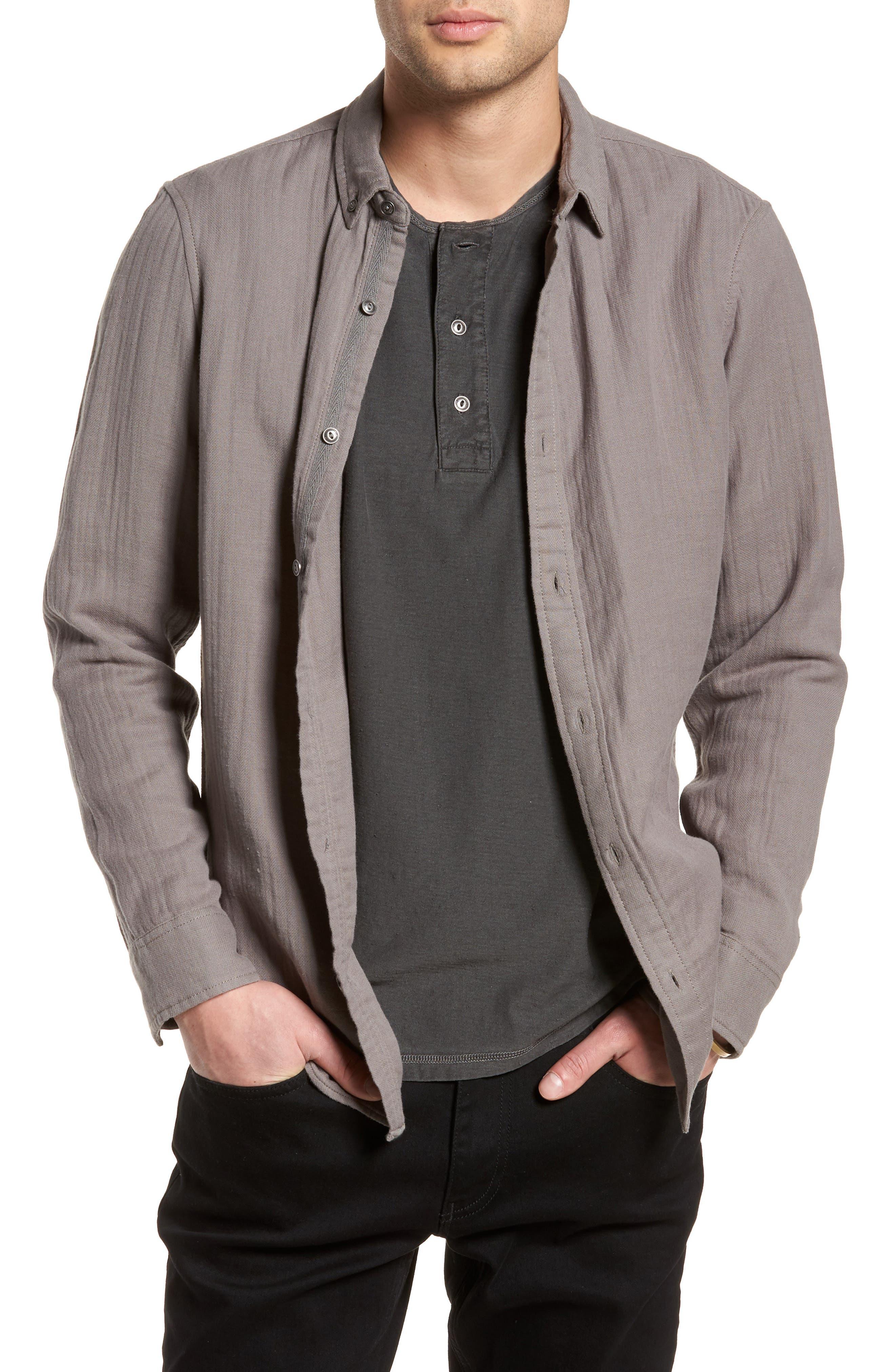 Sunset Shirt,                         Main,                         color, Grey Charcoal