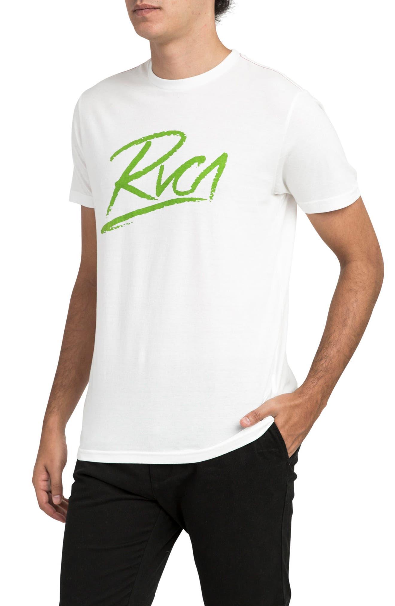 Scribe Logo T-Shirt,                             Alternate thumbnail 3, color,                             Antique White