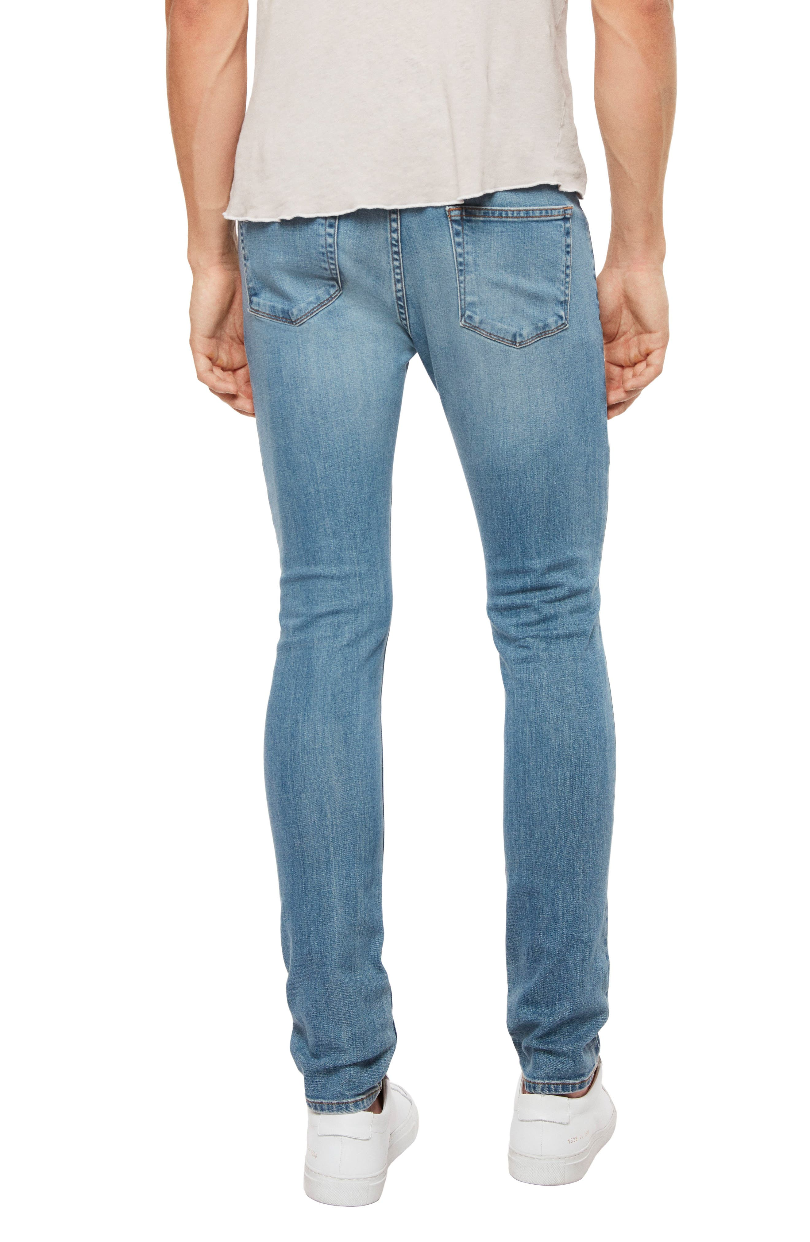 Skinny Fit Jeans,                             Alternate thumbnail 2, color,                             Stagon