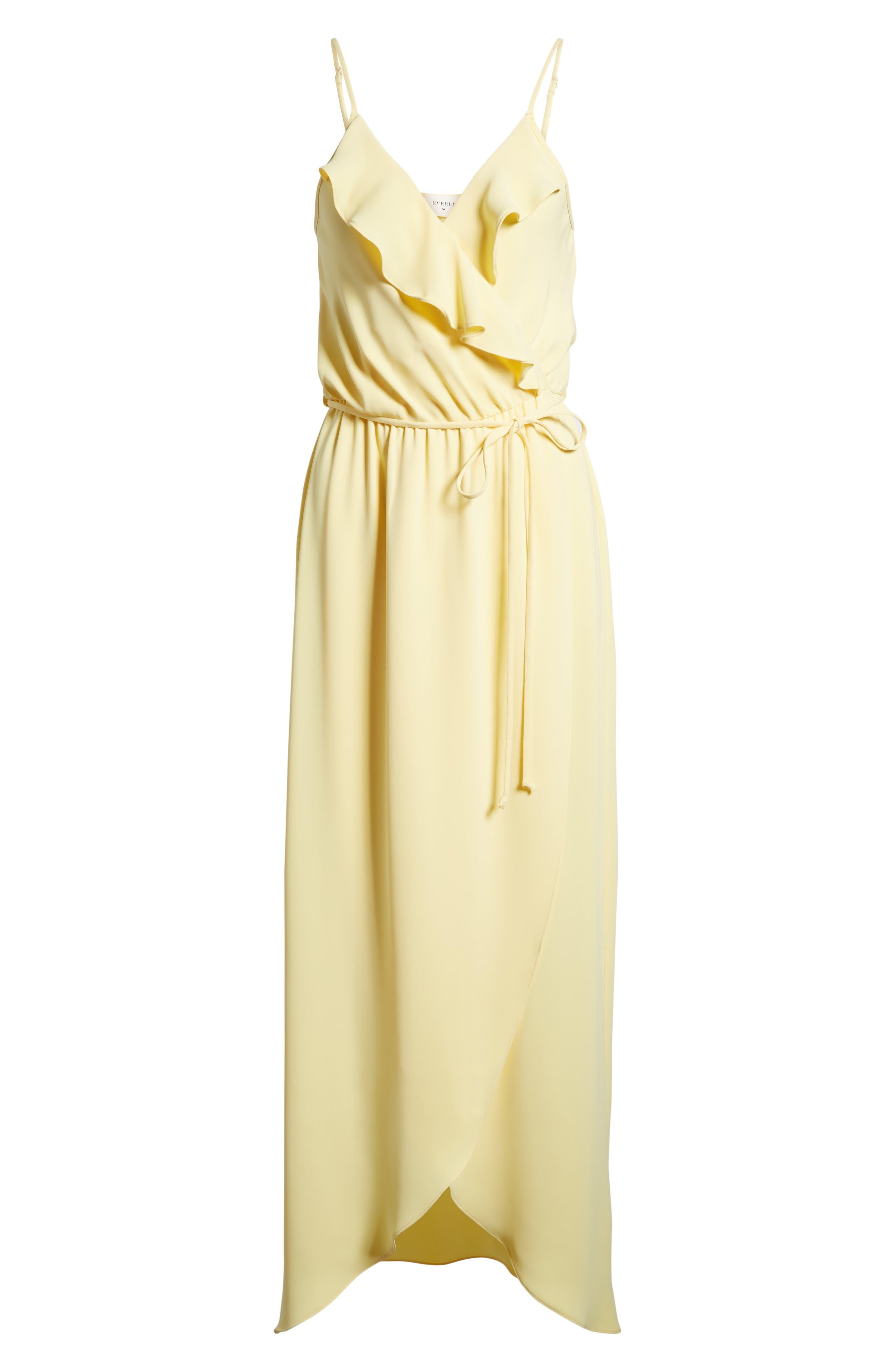 Alternate Image 6  - Everly Ruffle Wrap Maxi Dress