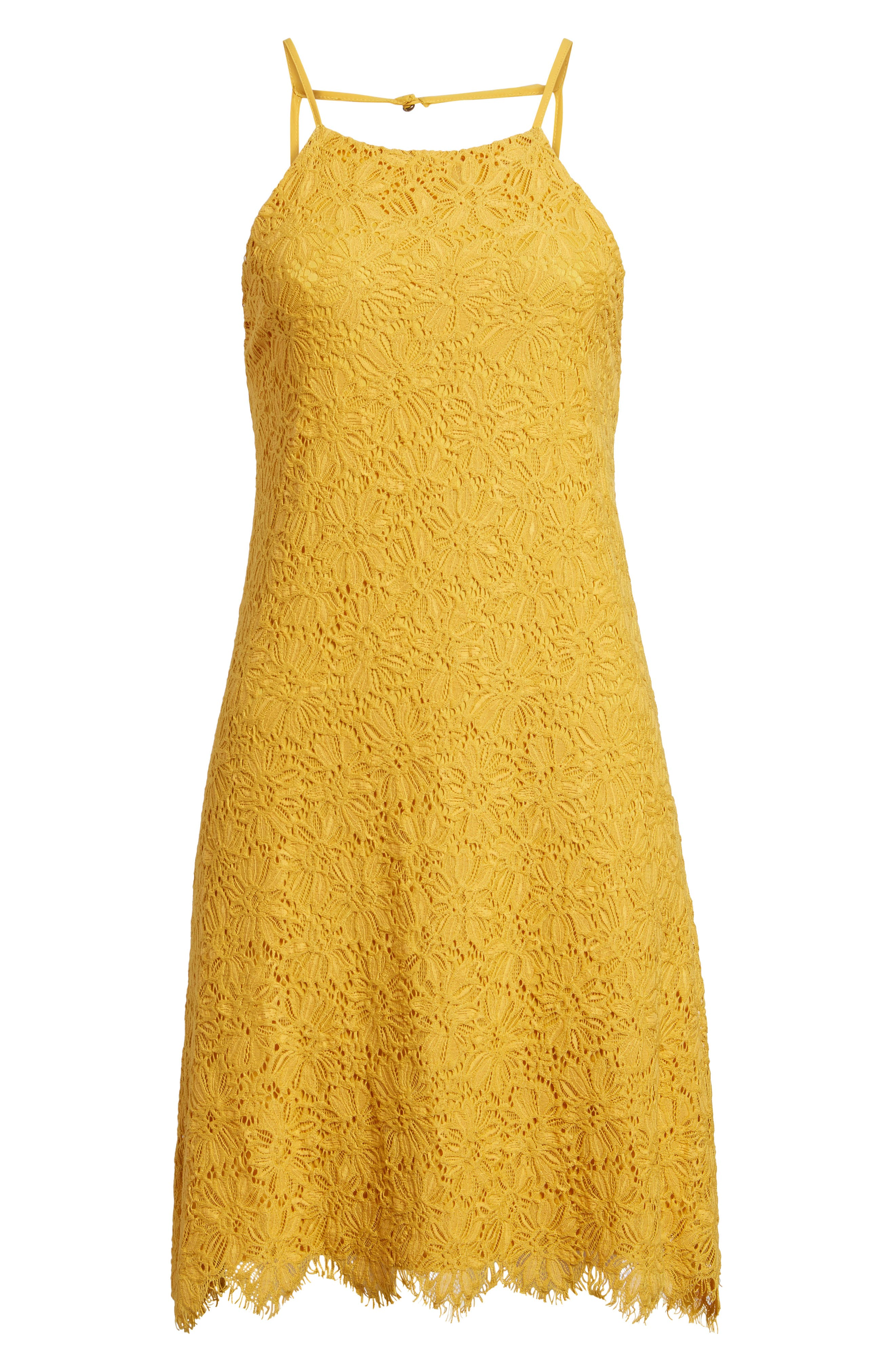 Alternate Image 6  - Speechless Lace Shift Dress