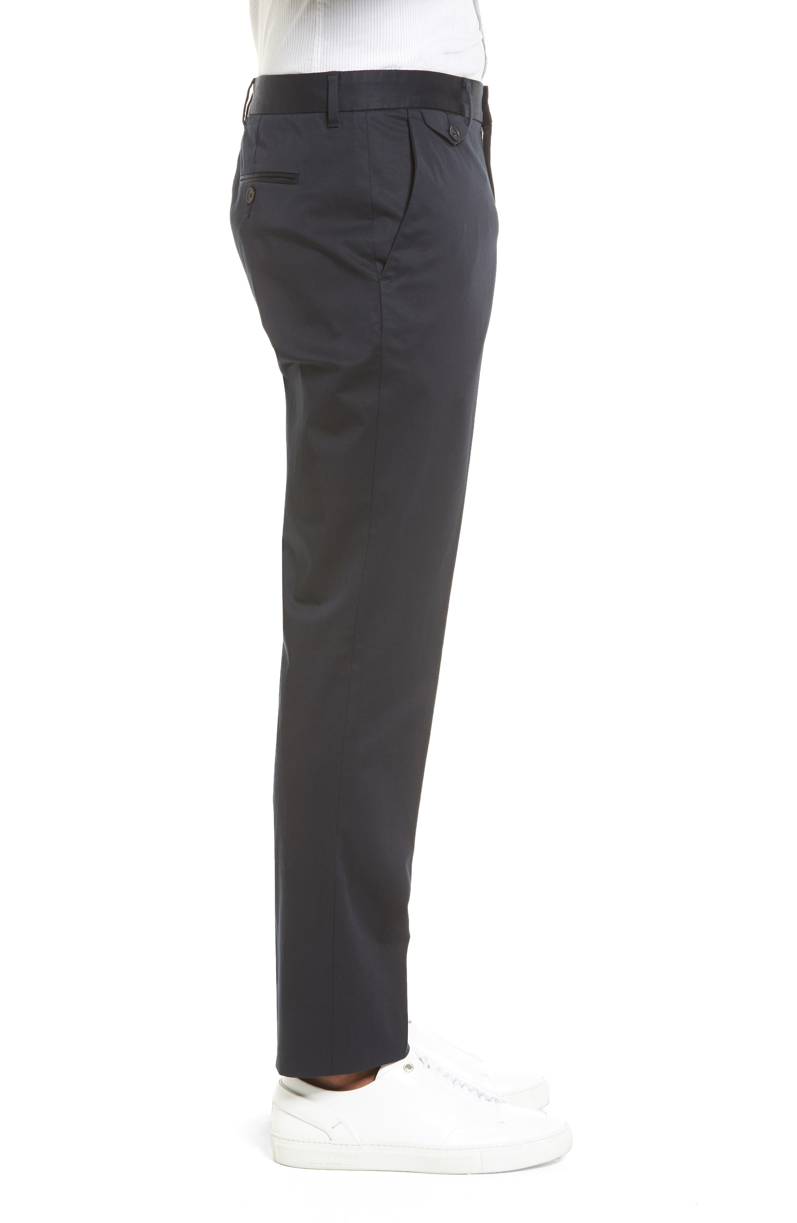 Alternate Image 2  - Vince Officer Flat Front Chino Pants