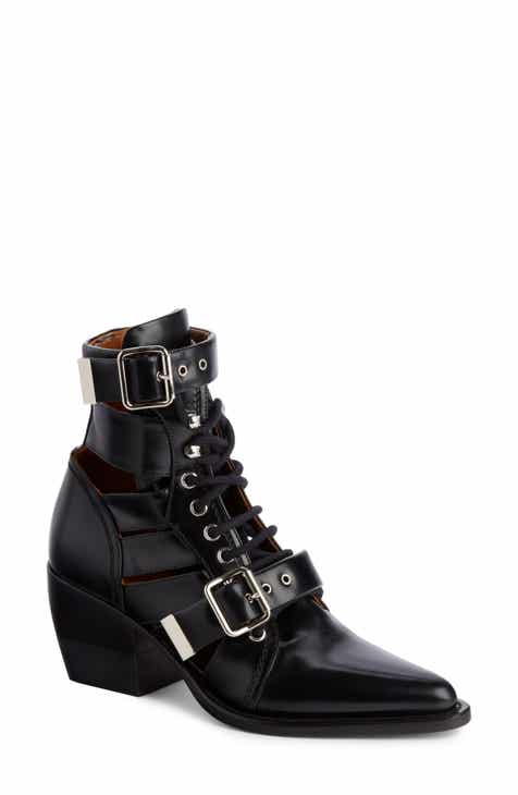 87e2ca5c98a7 Chloé Rylee Caged Pointy Toe Boot (Women)