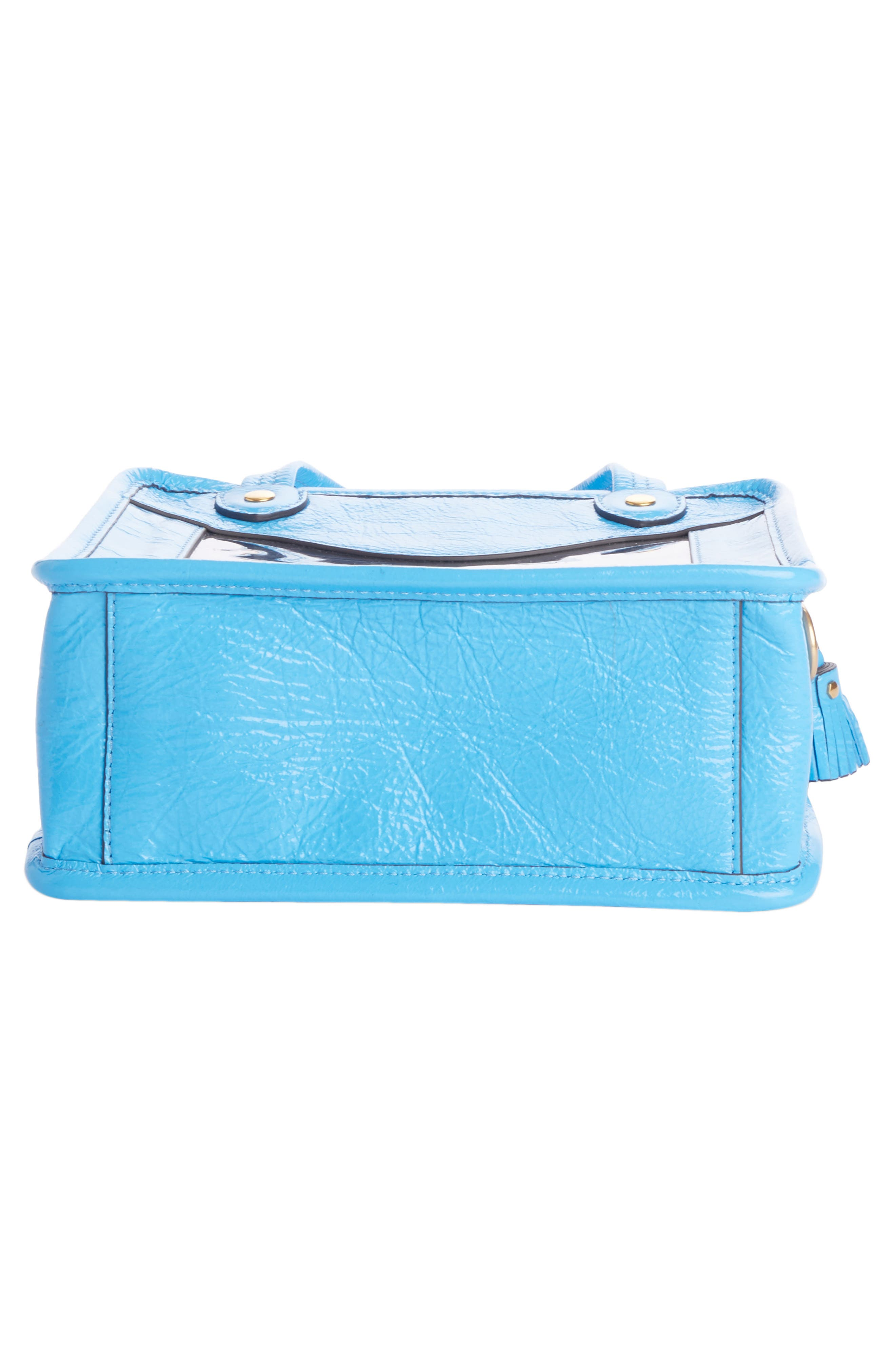 Rainy Day Crossbody Bag,                             Alternate thumbnail 4, color,                             Blue Quilt
