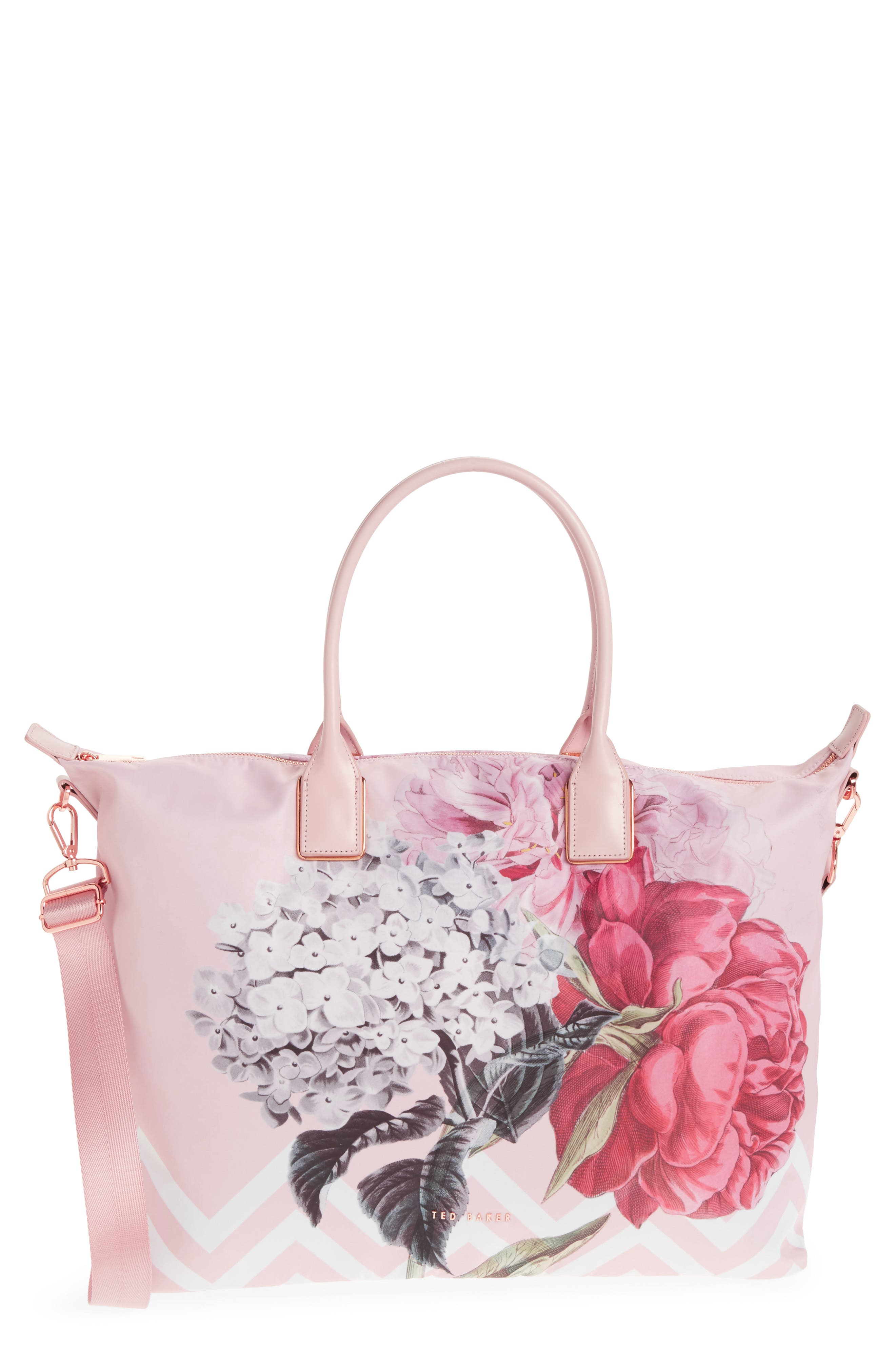 Ted Baker London Large Palace Gardens Nylon Tote