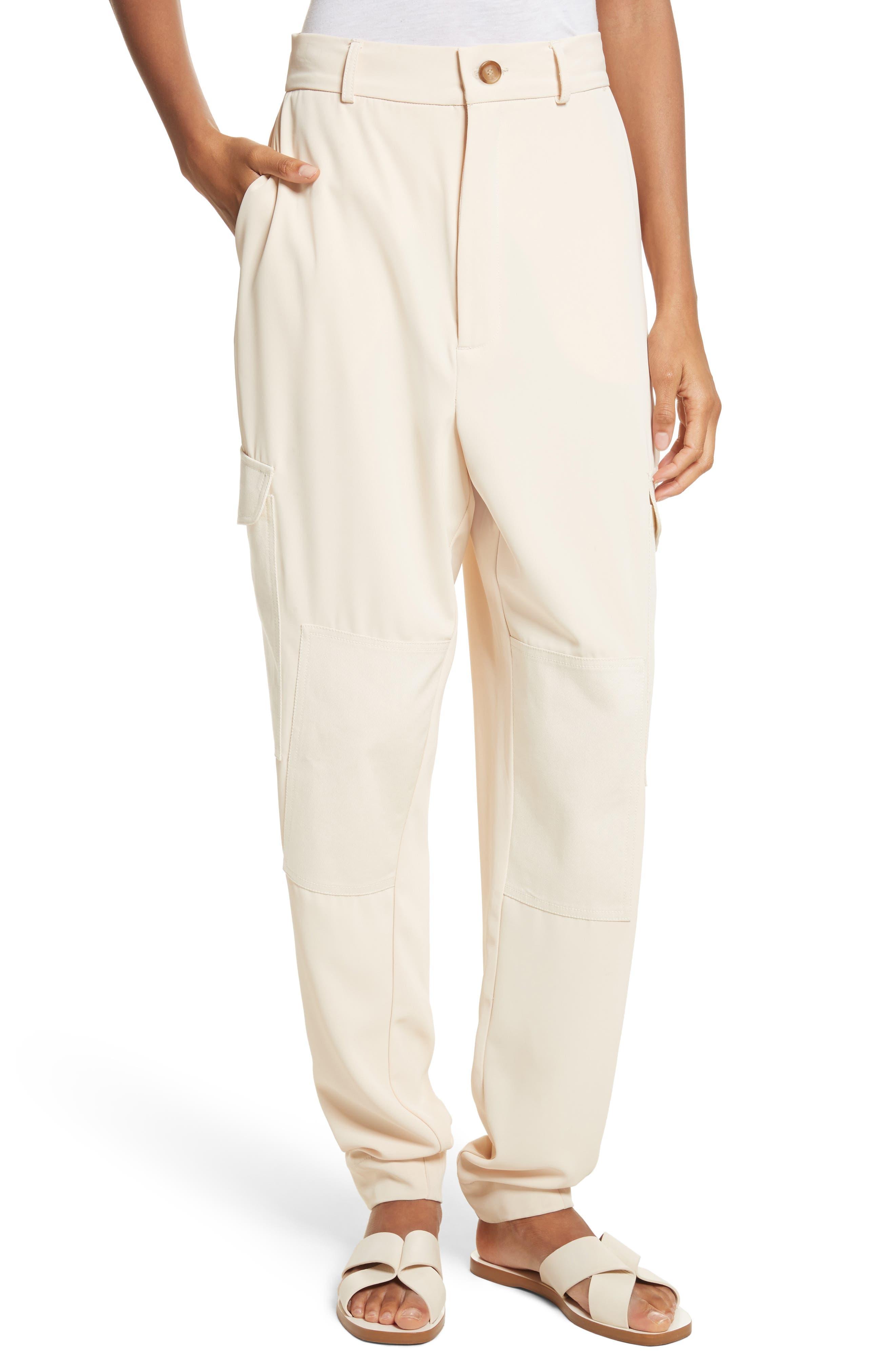 Cargo Pants,                         Main,                         color, Angora Beige