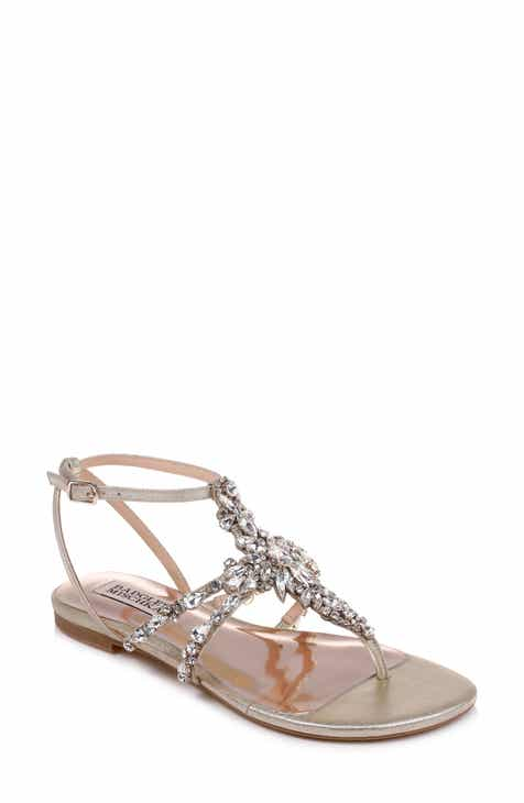 b9226a53abf839 Badgley Mischka Hampden Crystal Embellished Sandal (Women)
