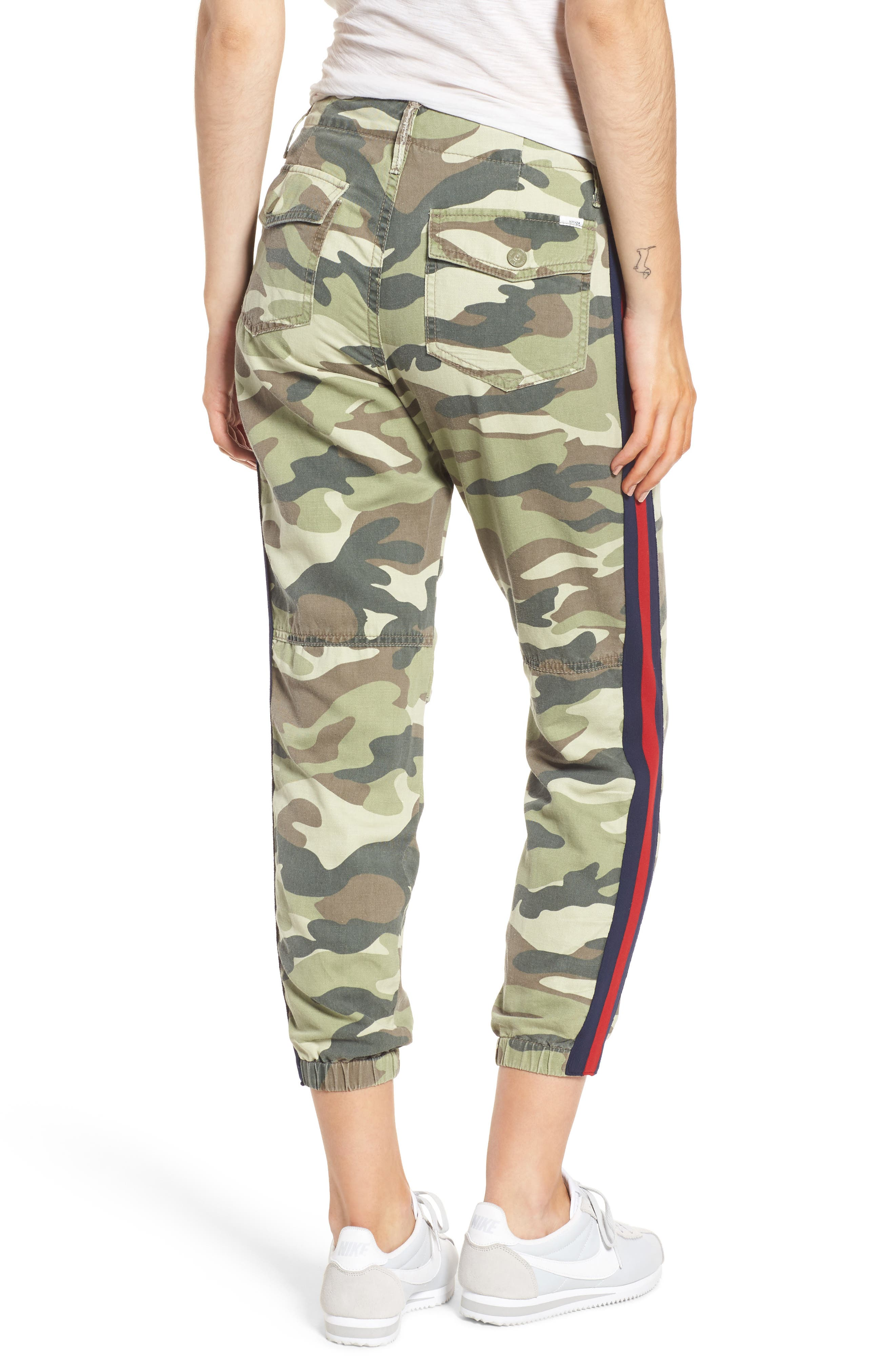 The Misfit Crop Pants,                             Alternate thumbnail 2, color,                             Camouflage