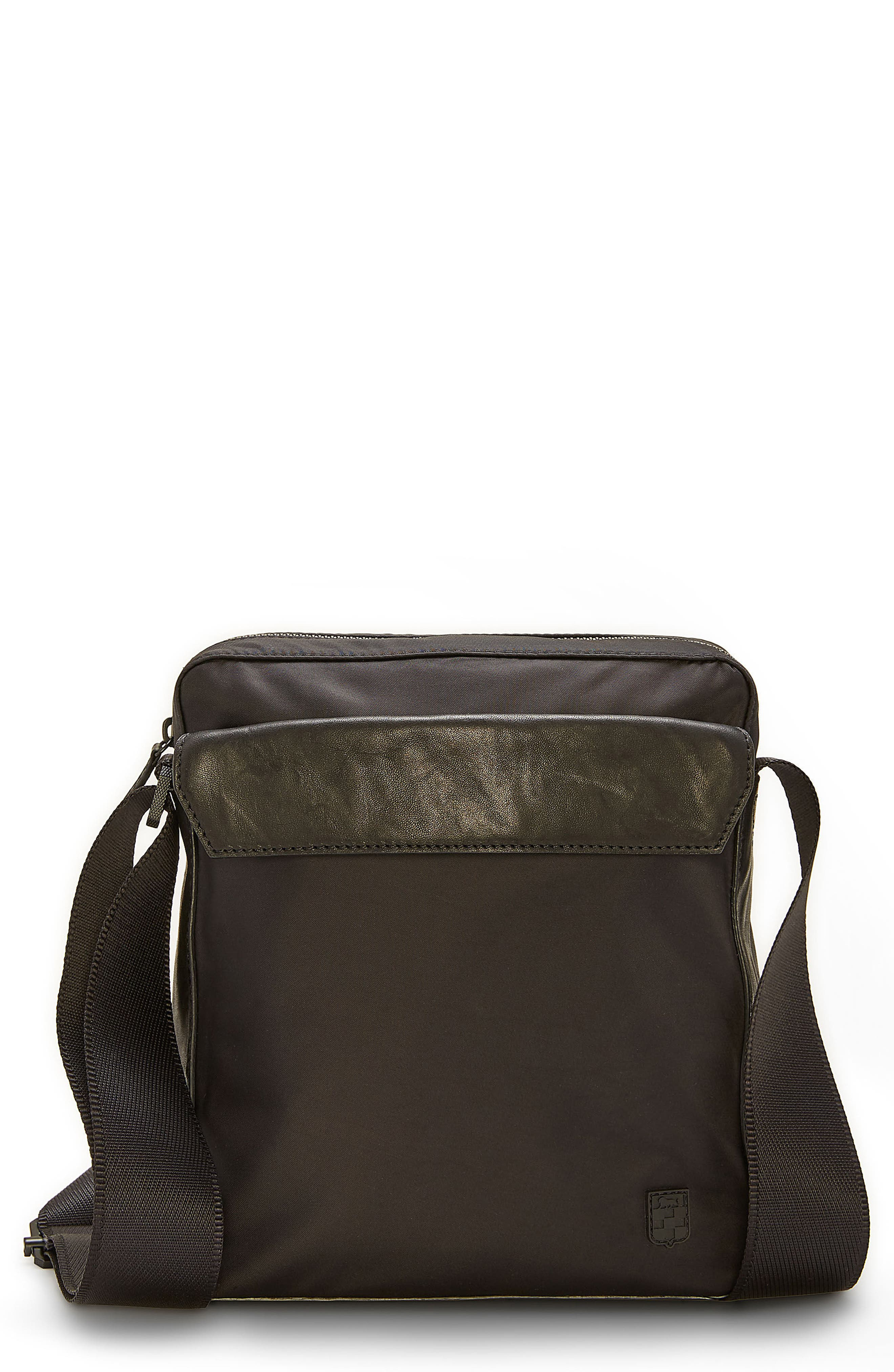 Basin Crossbody Bag,                             Main thumbnail 1, color,                             Black