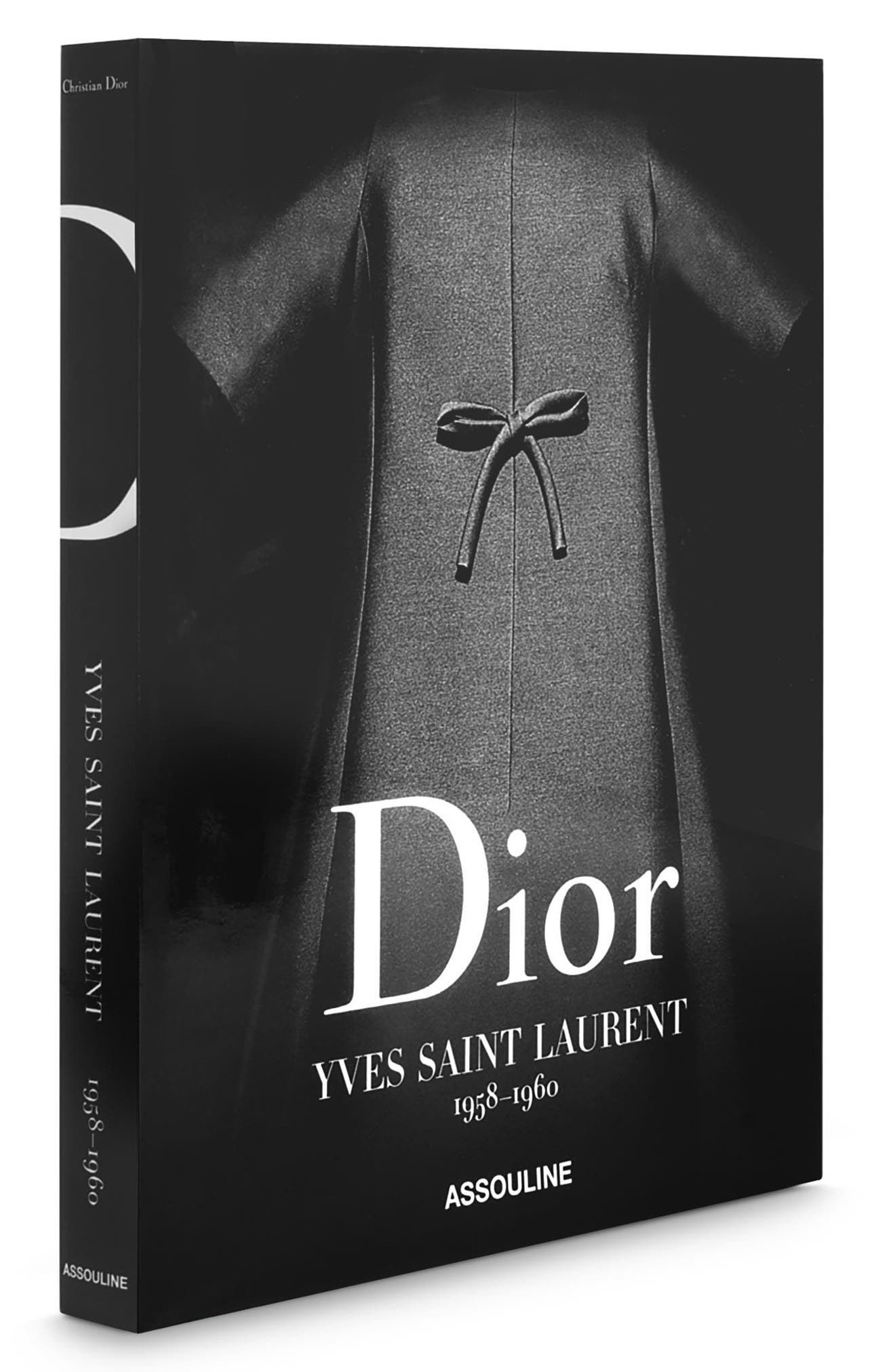 'Dior by Yves Saint Laurent' Book,                             Alternate thumbnail 3, color,                             Grey