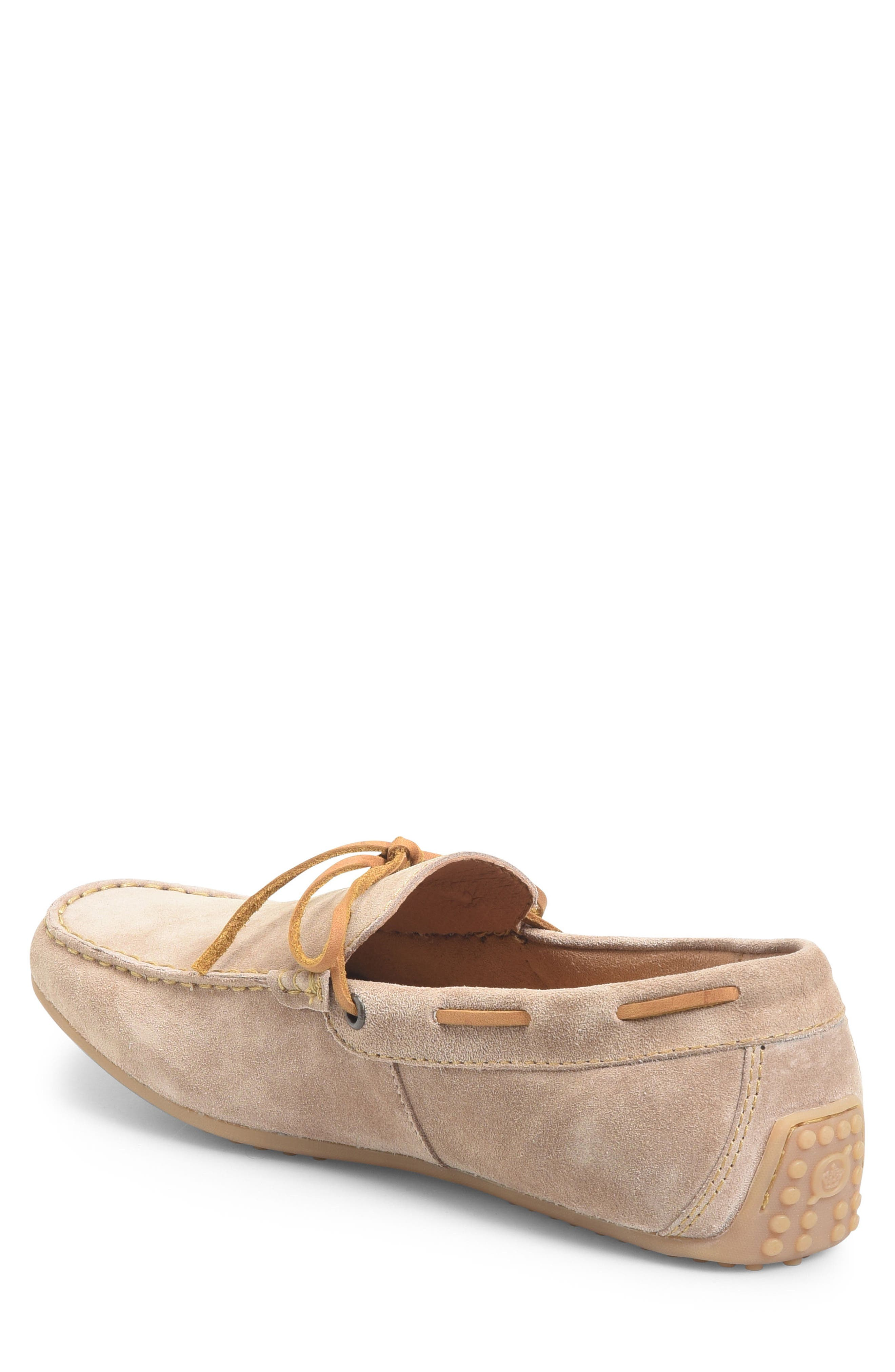 Virgo Driving Shoe,                             Alternate thumbnail 2, color,                             Taupe Suede