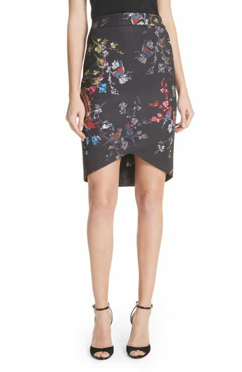 Ted Baker London Opulent Fauna Pencil Skirt