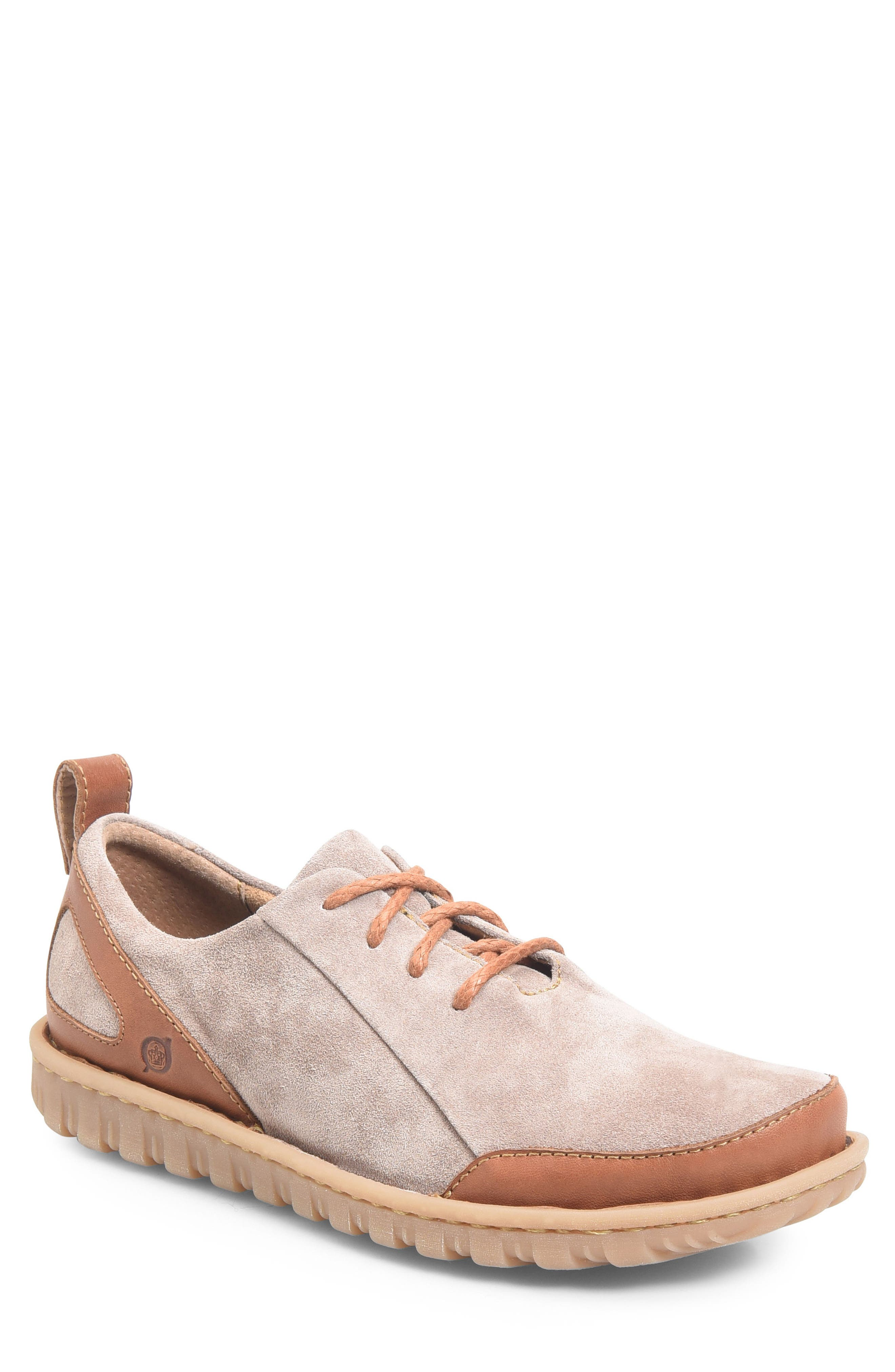 Piper Plain Toe Derby,                             Main thumbnail 1, color,                             Grey/ Bronze Leather