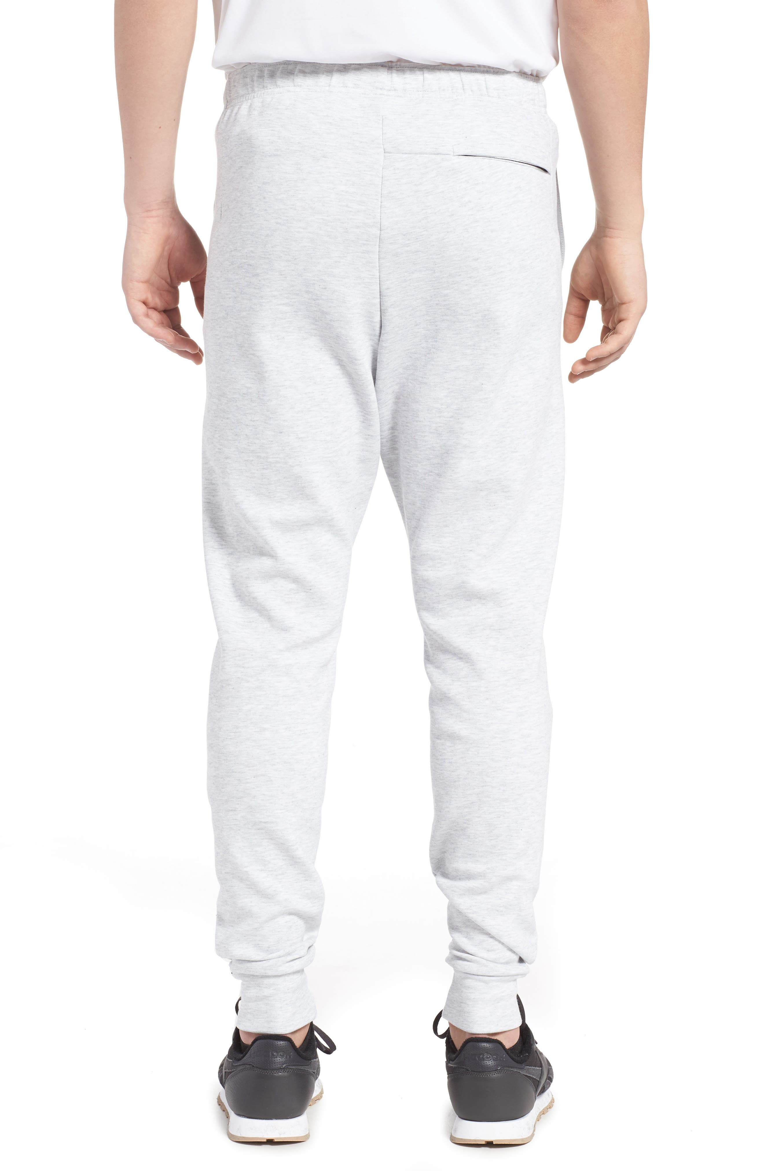 Classic Dynamic Knit Jogger Pants,                             Alternate thumbnail 2, color,                             Light Grey Heather