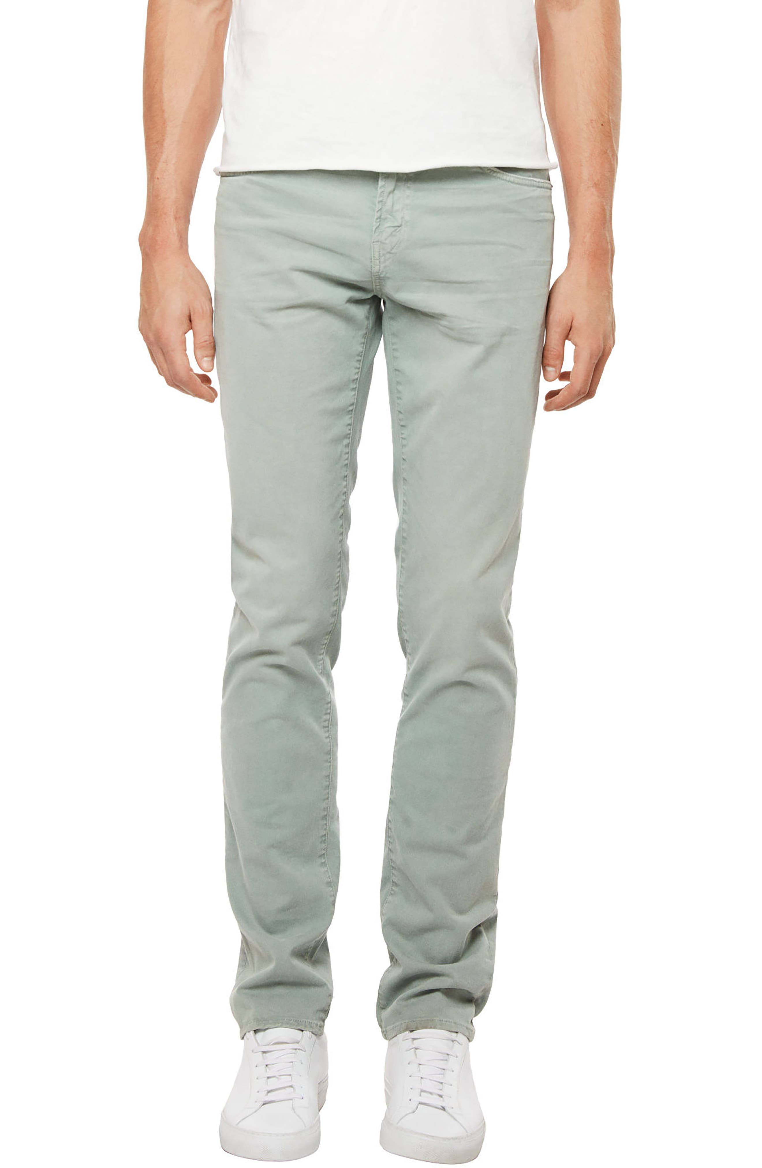 Tyler Slim Fit Jeans,                         Main,                         color, Thrashed Earthflow