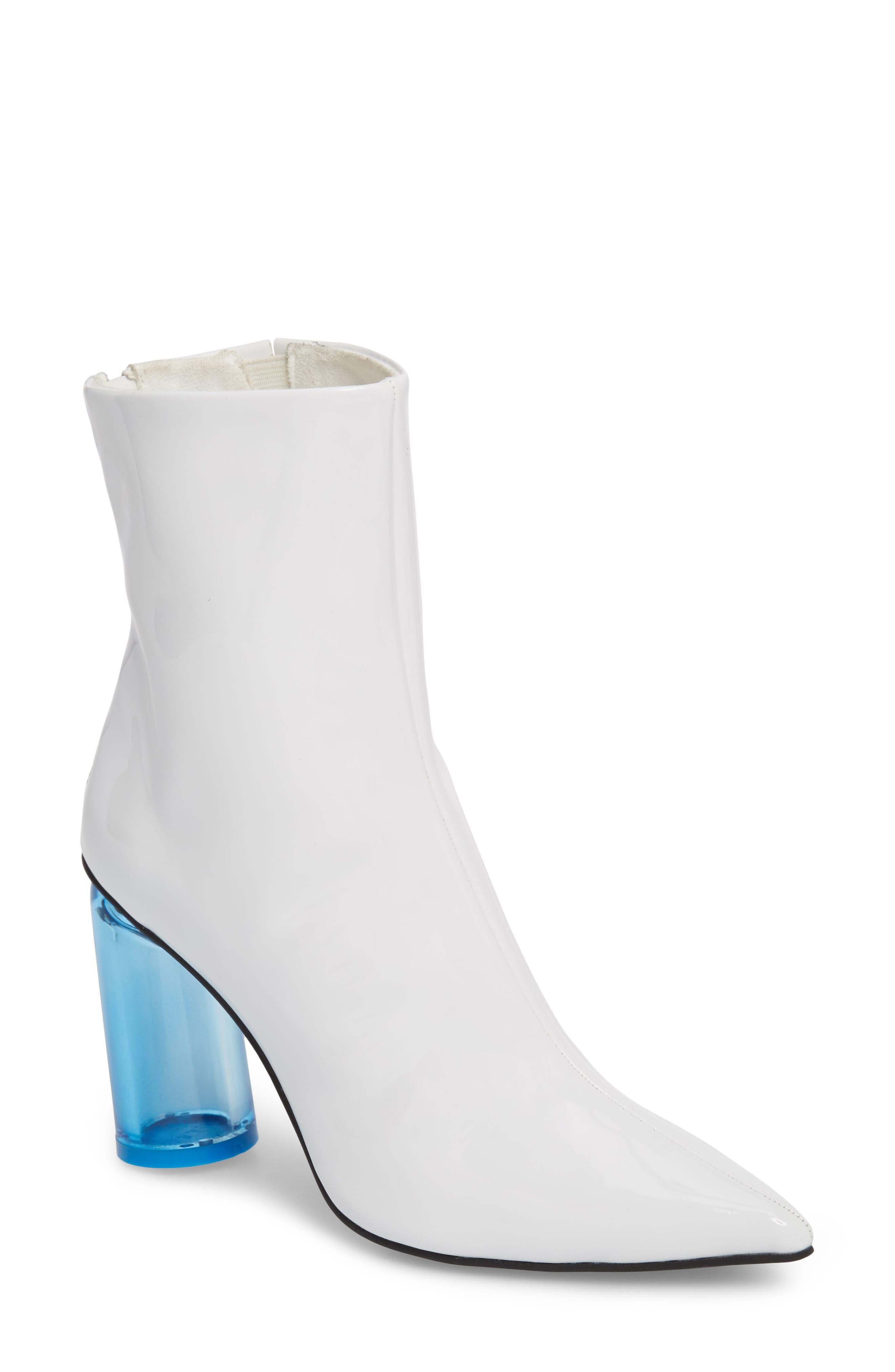 Alternate Image 1 Selected - Jeffrey Campbell Lustrous Column Heel Bootie (Women)
