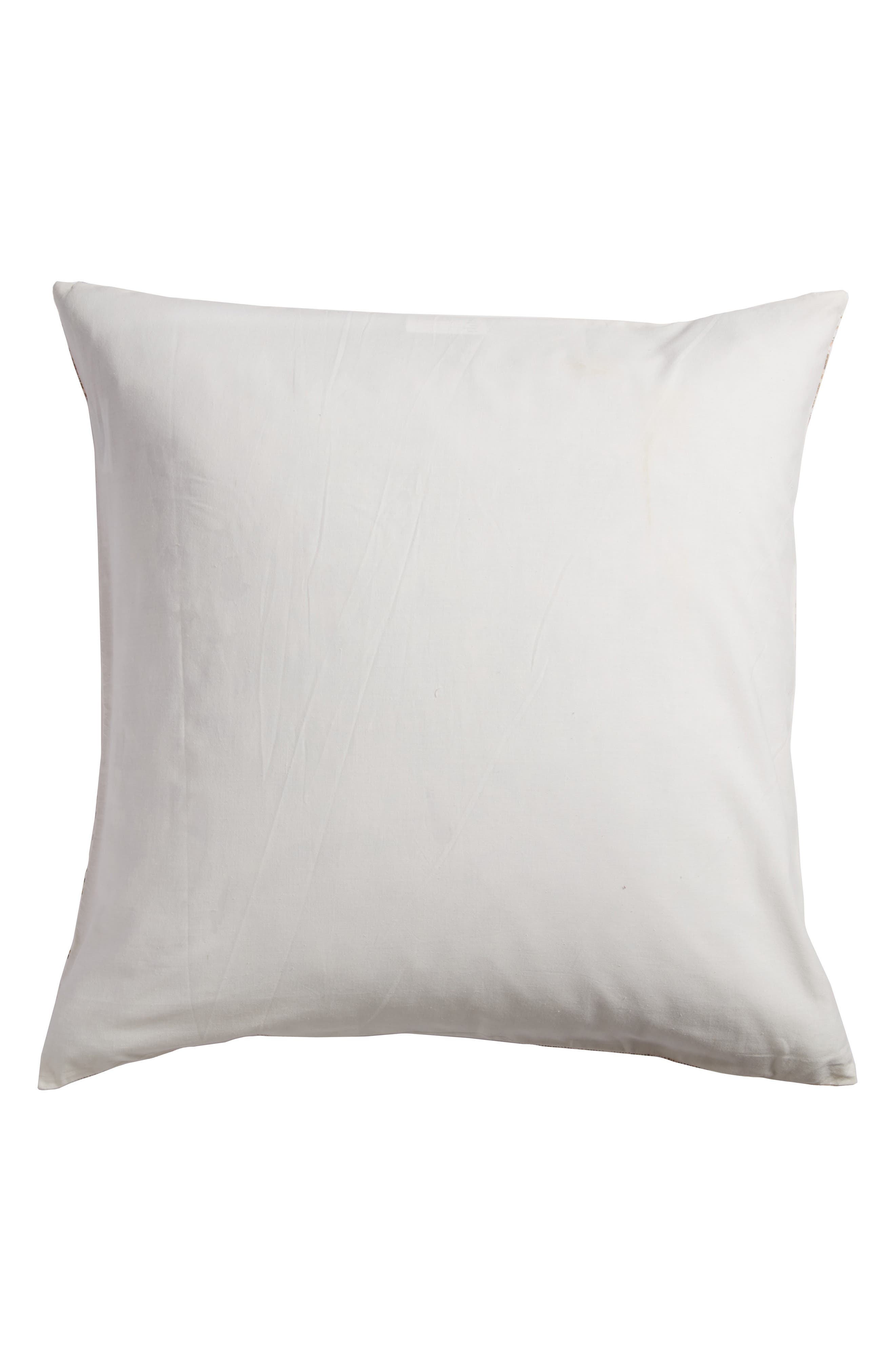 Malia Accent Pillow,                             Alternate thumbnail 3, color,                             Ivory