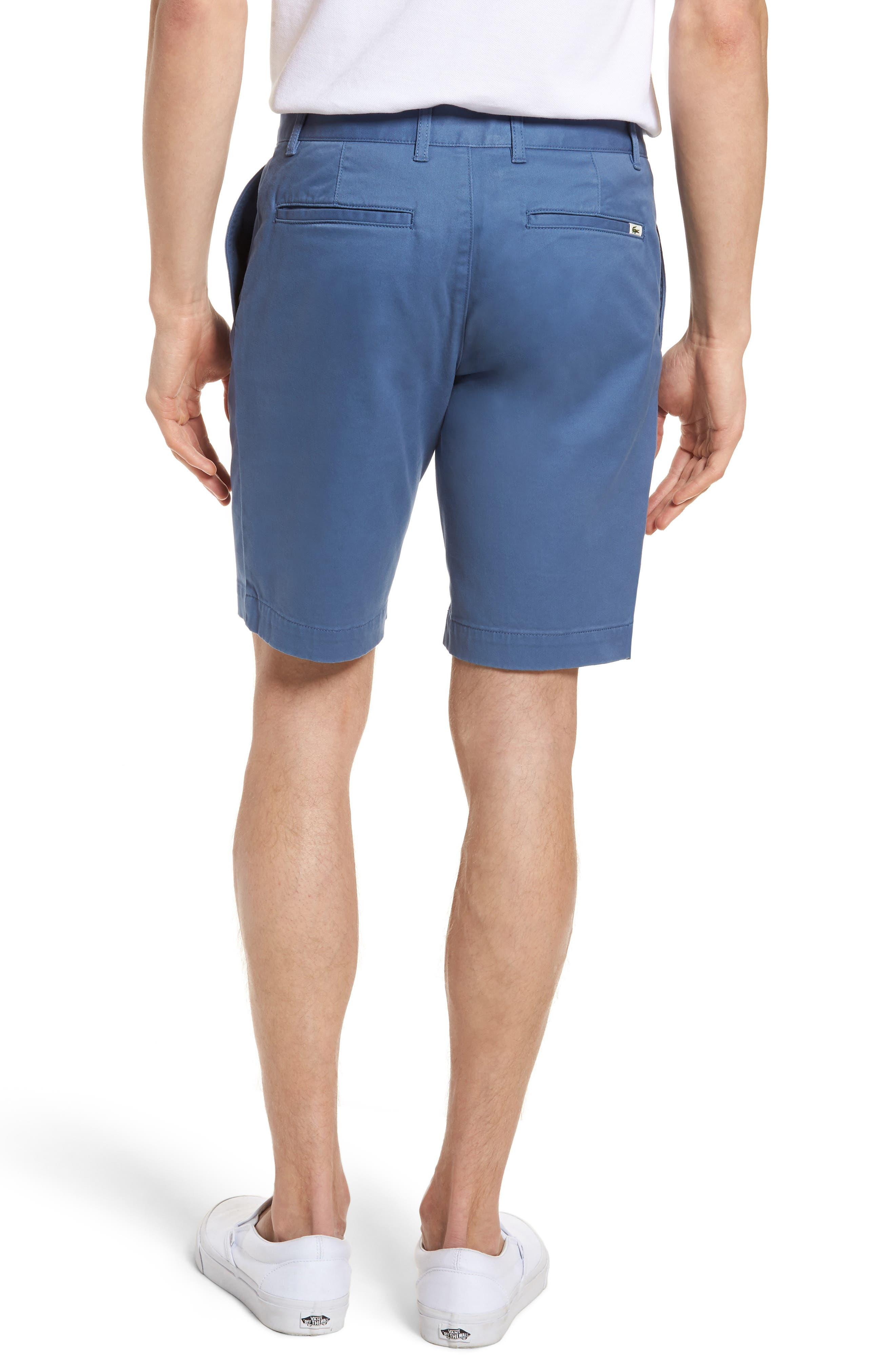 Slim Fit Chino Shorts,                             Alternate thumbnail 2, color,                             King