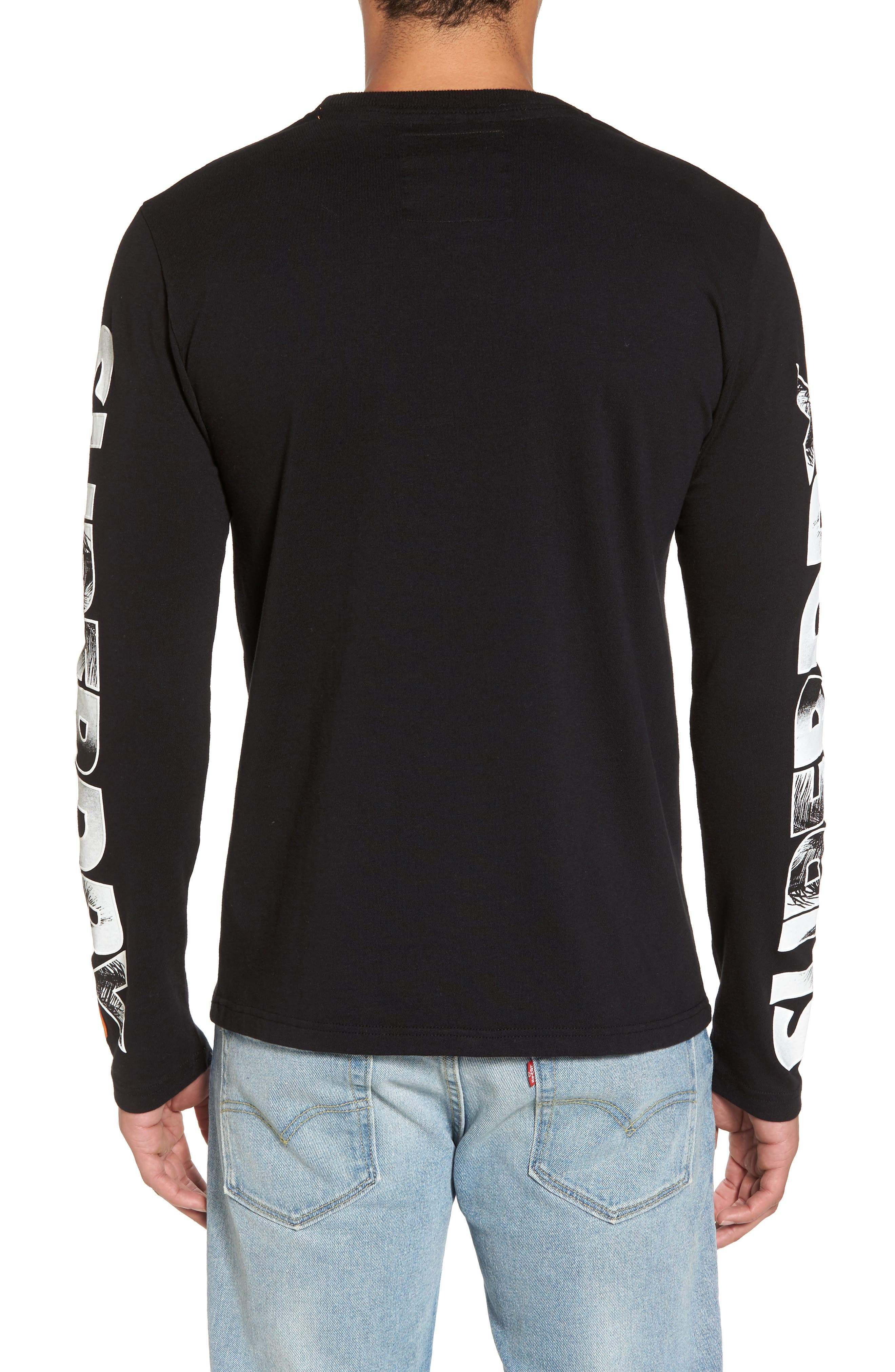 Hyper T-Shirt,                             Alternate thumbnail 2, color,                             Black