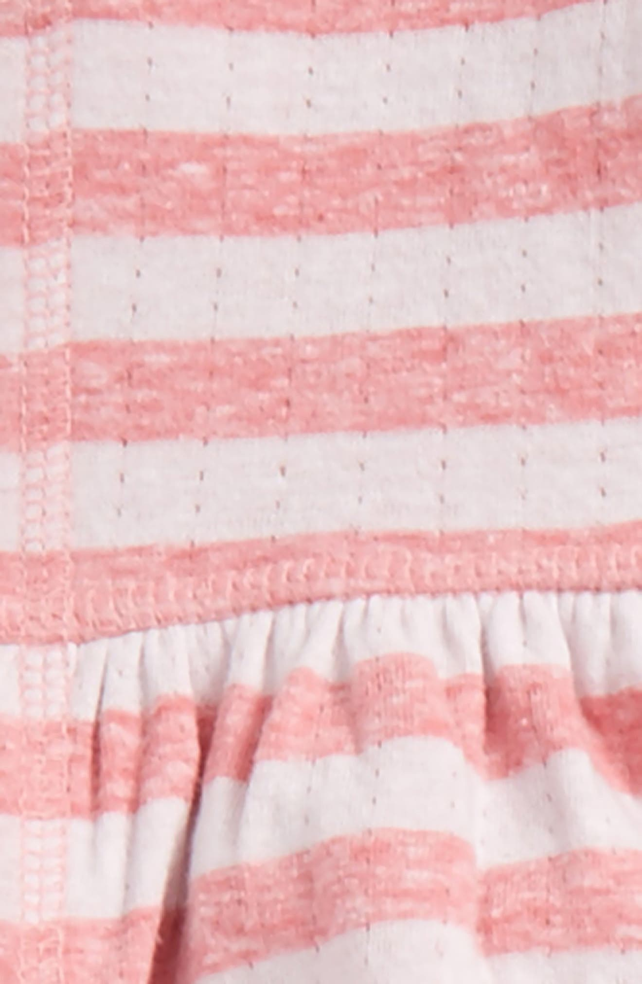 Alternate Image 2  - Nordstrom Baby Zip Hoodie, Bodysuit & Leggings Set (Baby Girls)