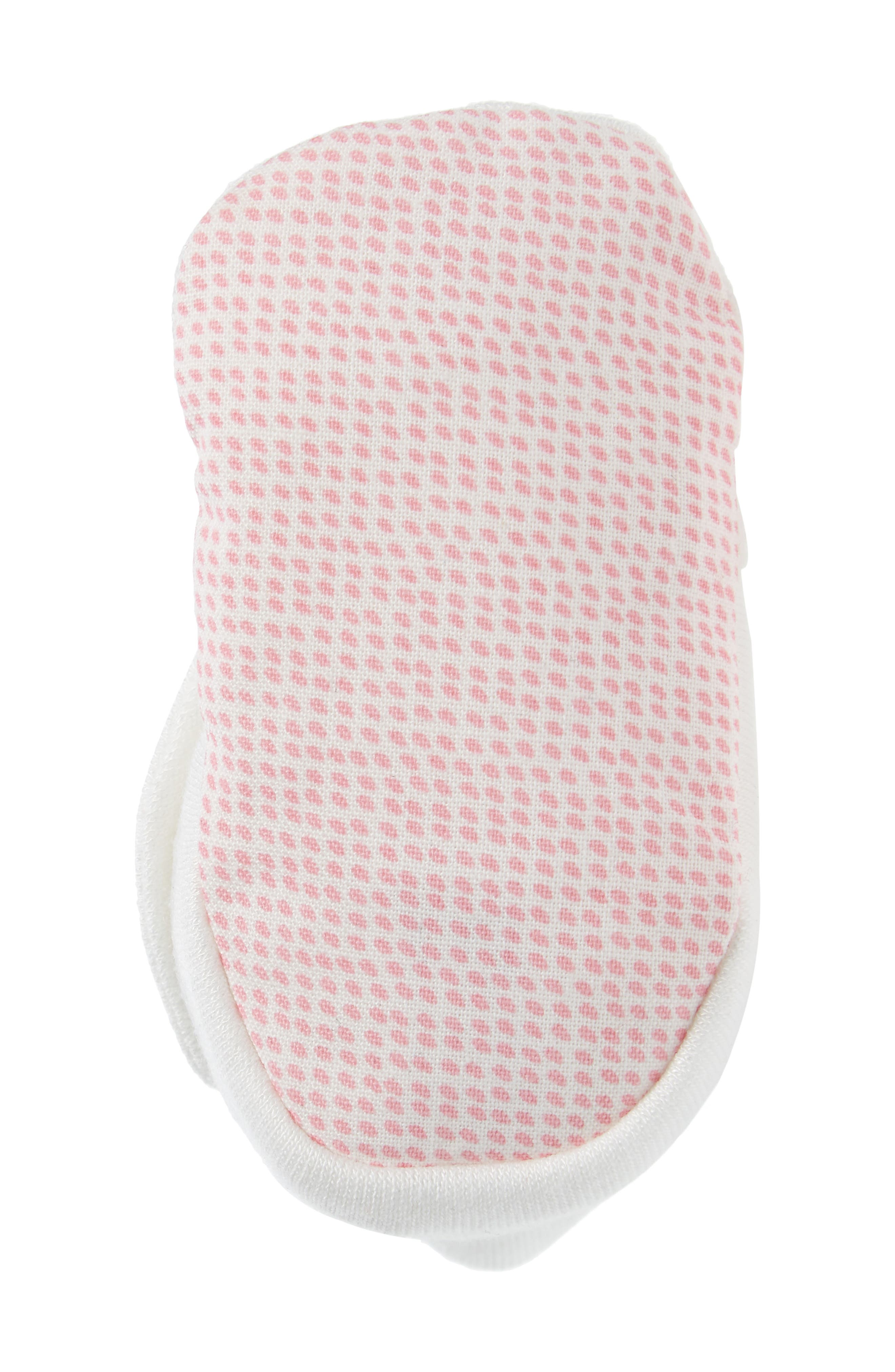 Raindrops Print Bootie,                             Alternate thumbnail 5, color,                             Pink