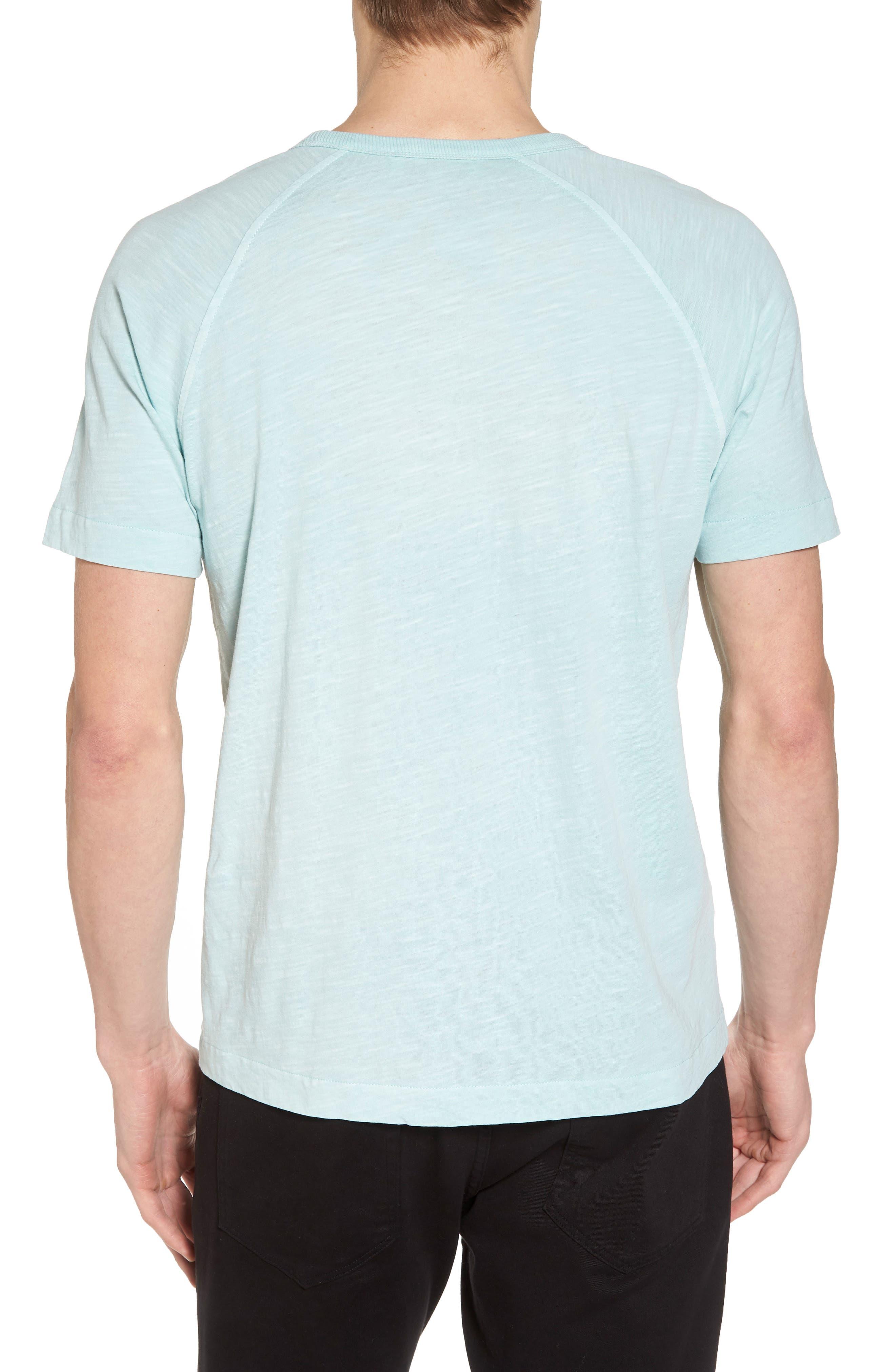 Television Raglan T-Shirt,                             Alternate thumbnail 2, color,                             Sky