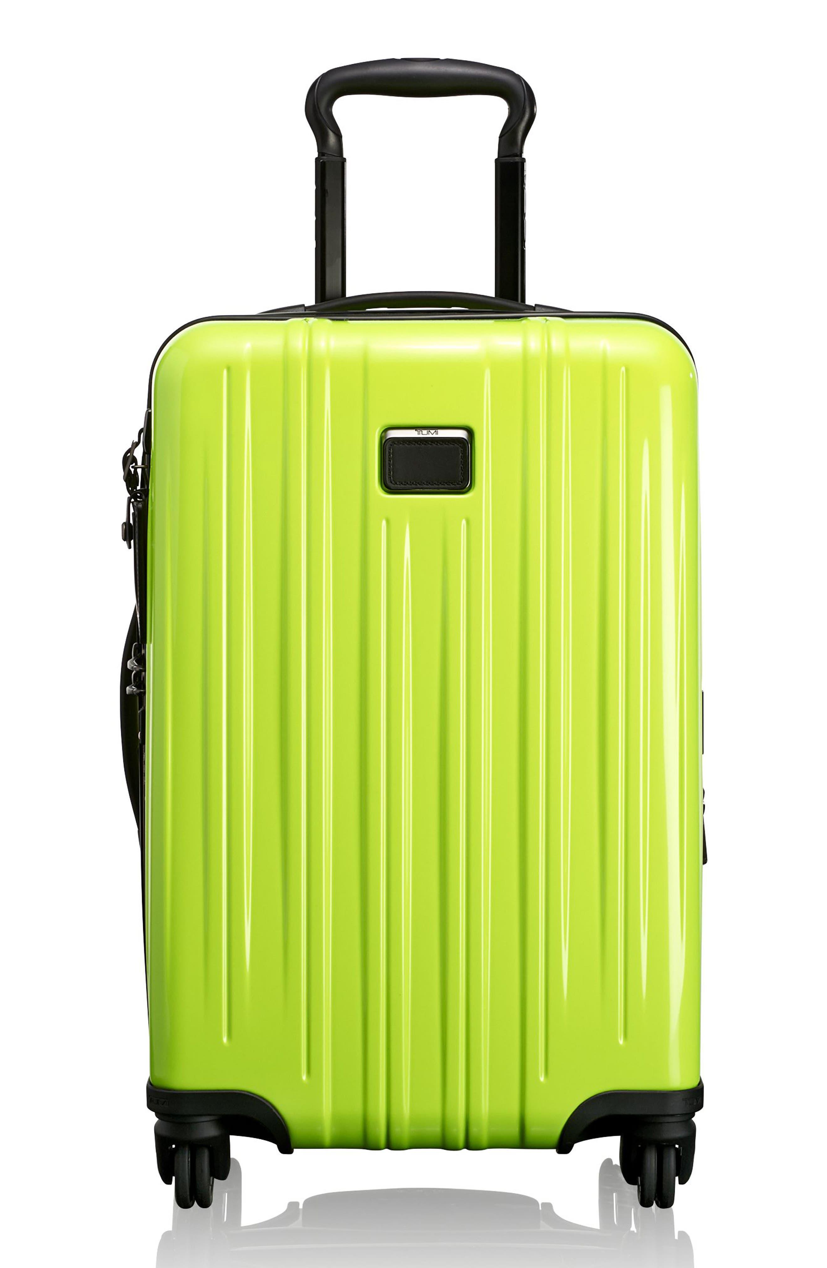 V3 22-Inch International Spinner Packing Case,                             Main thumbnail 1, color,                             Citron