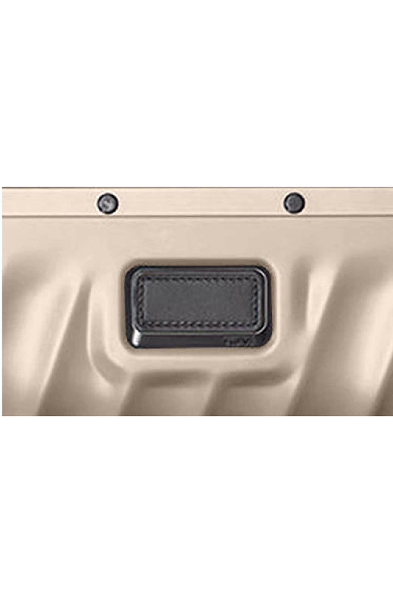 19-Degree 22-Inch Aluminum Spinner Carry-On,                             Alternate thumbnail 4, color,                             Ivory Gold