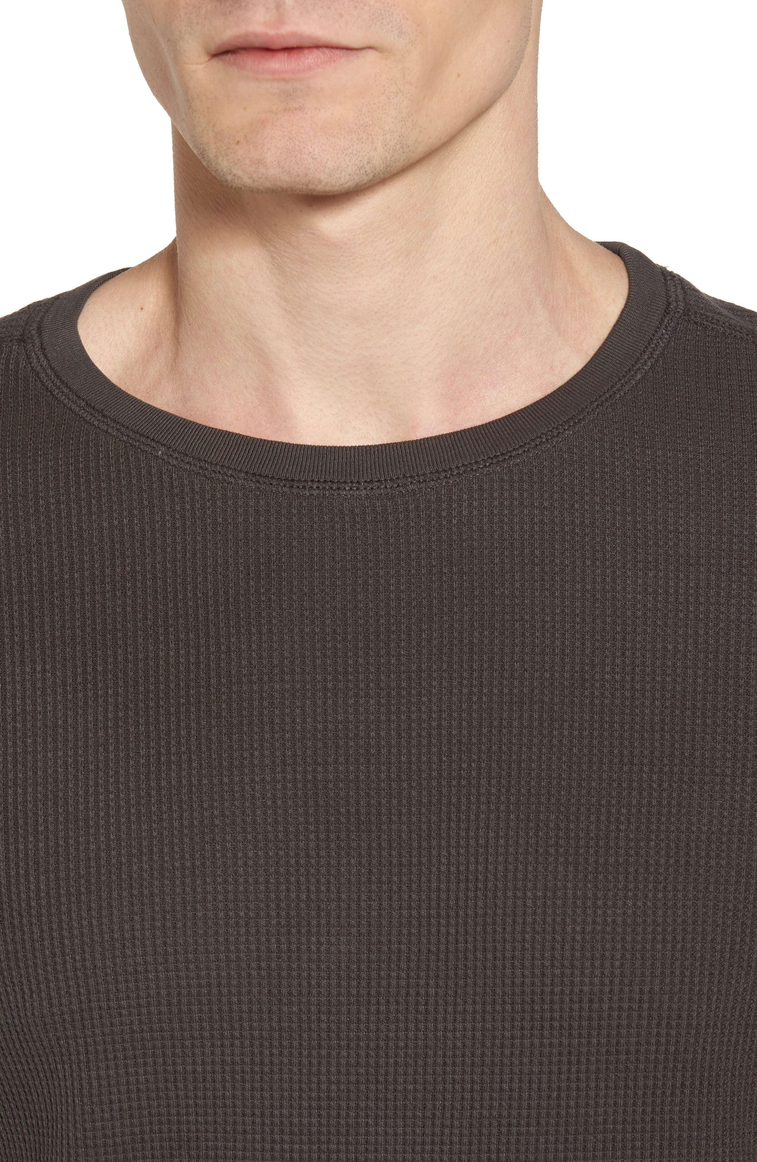 Alternate Image 4  - AG Trevor Slim Fit Crewneck Shirt