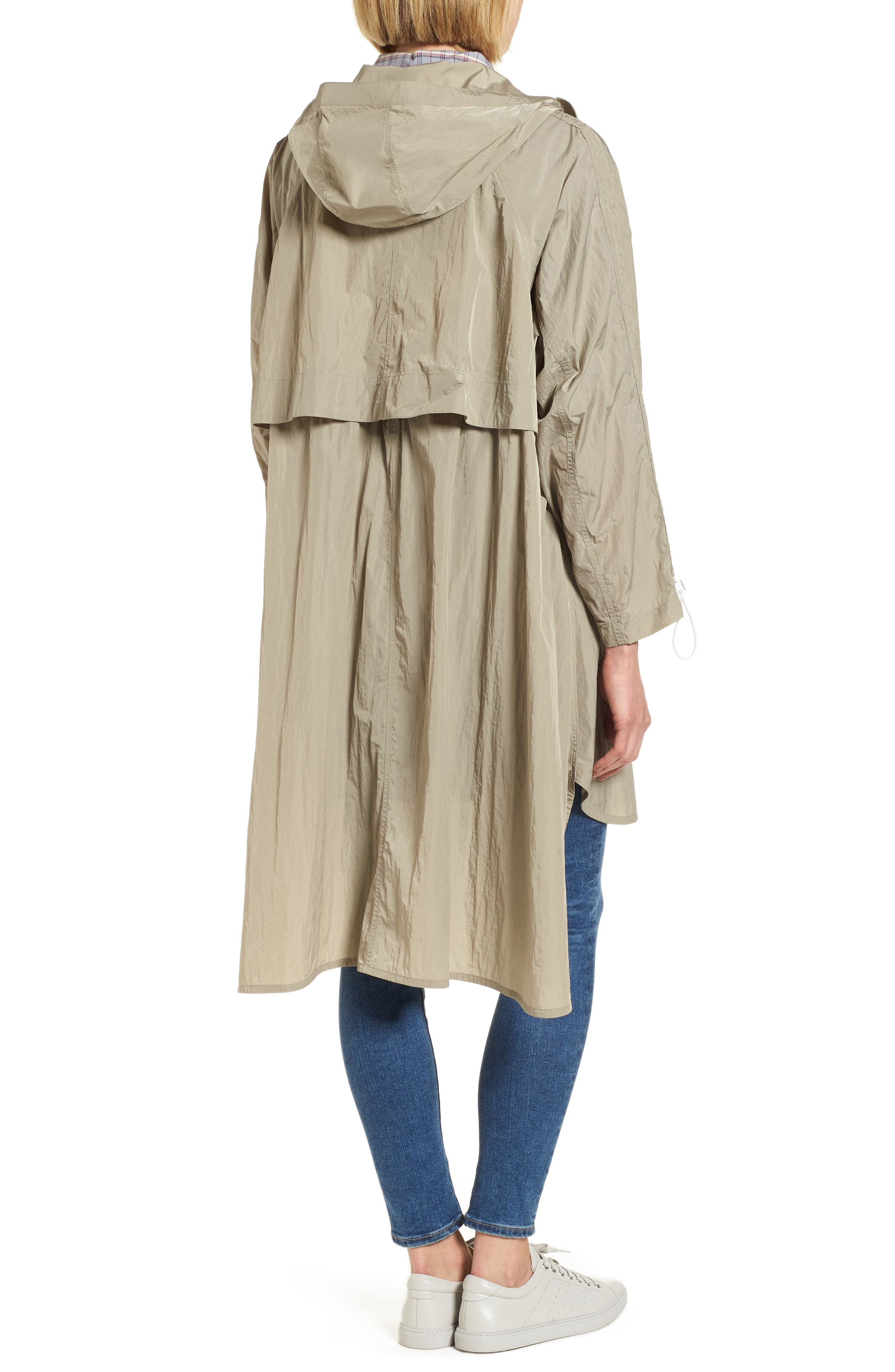 Florence Hooded Jacket,                             Alternate thumbnail 2, color,                             Dune