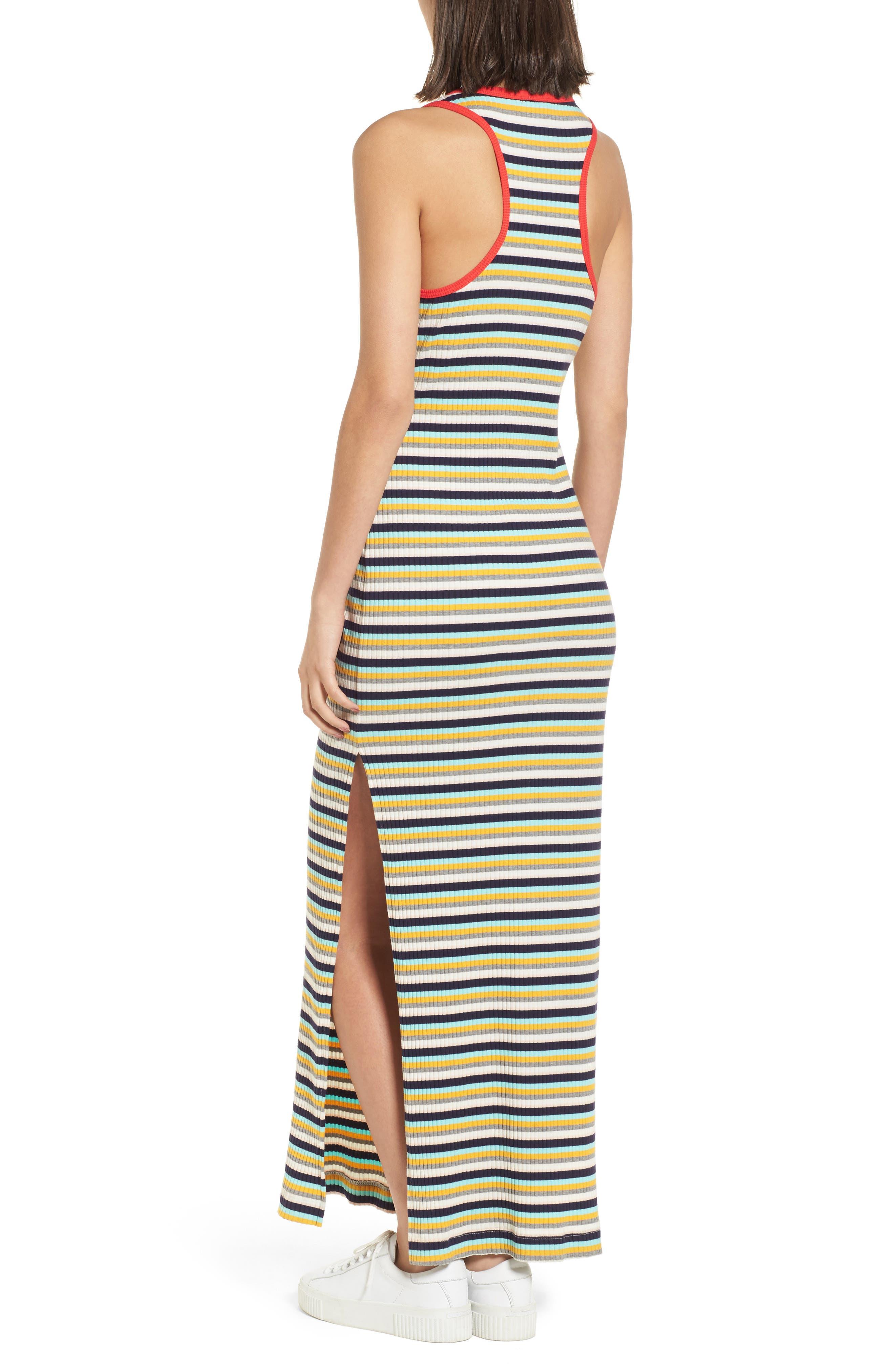 x Margherita Banda Maxi Dress,                             Alternate thumbnail 3, color,                             Multi