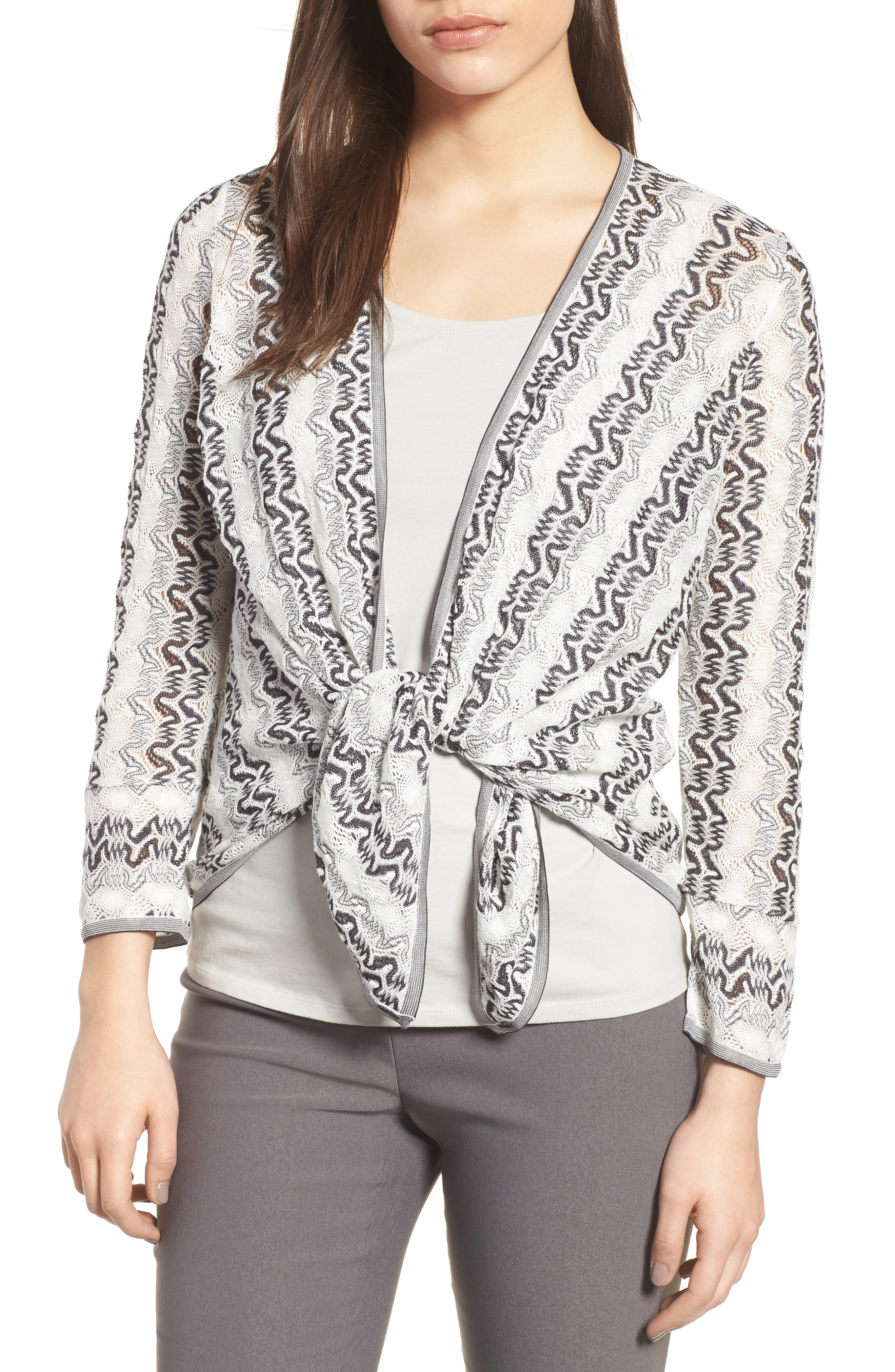 Covered Up 4-Way Convertible Cardigan,                             Alternate thumbnail 4, color,                             Multi