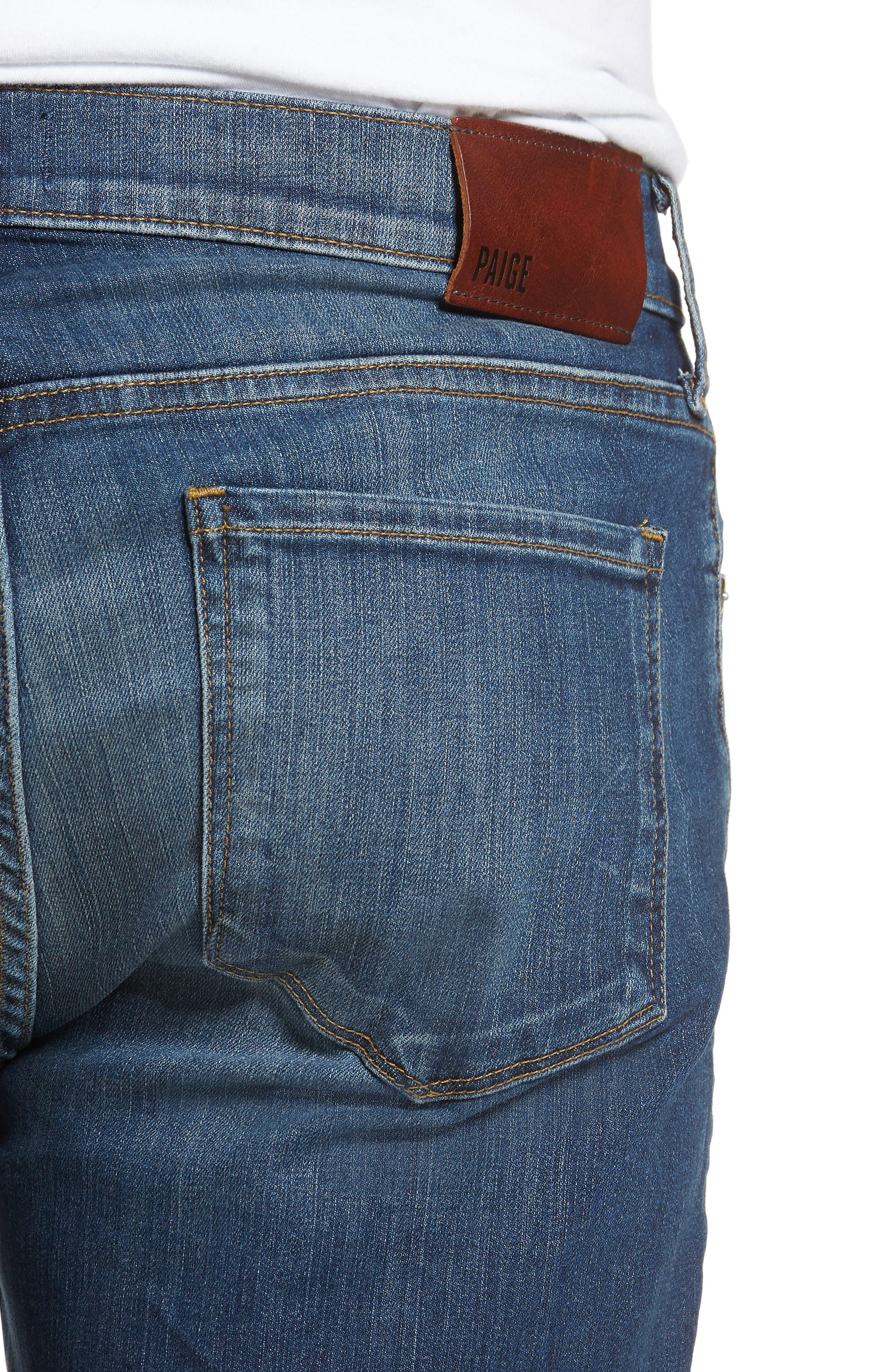 Federal Slim Straight Leg Jeans,                             Alternate thumbnail 4, color,                             Harlan