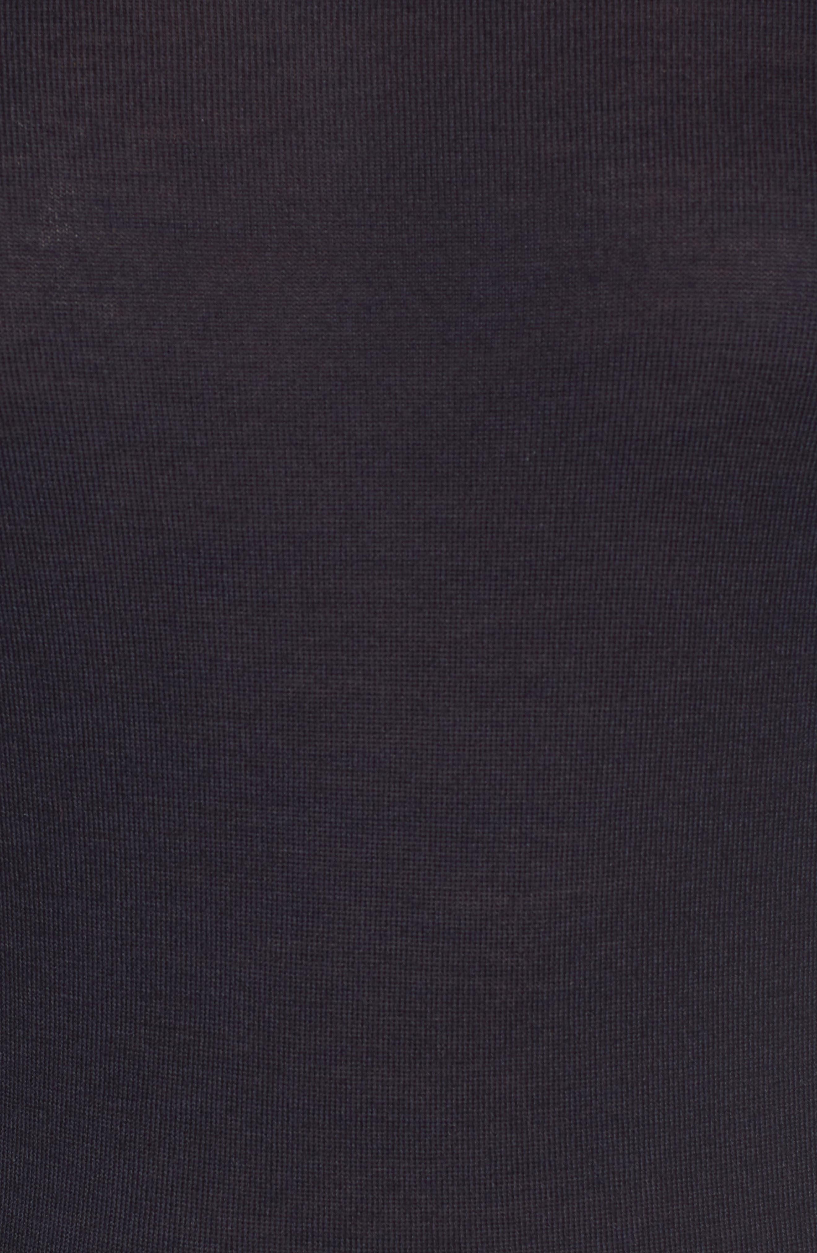 Femma Wool Sweater,                             Alternate thumbnail 5, color,                             Navy