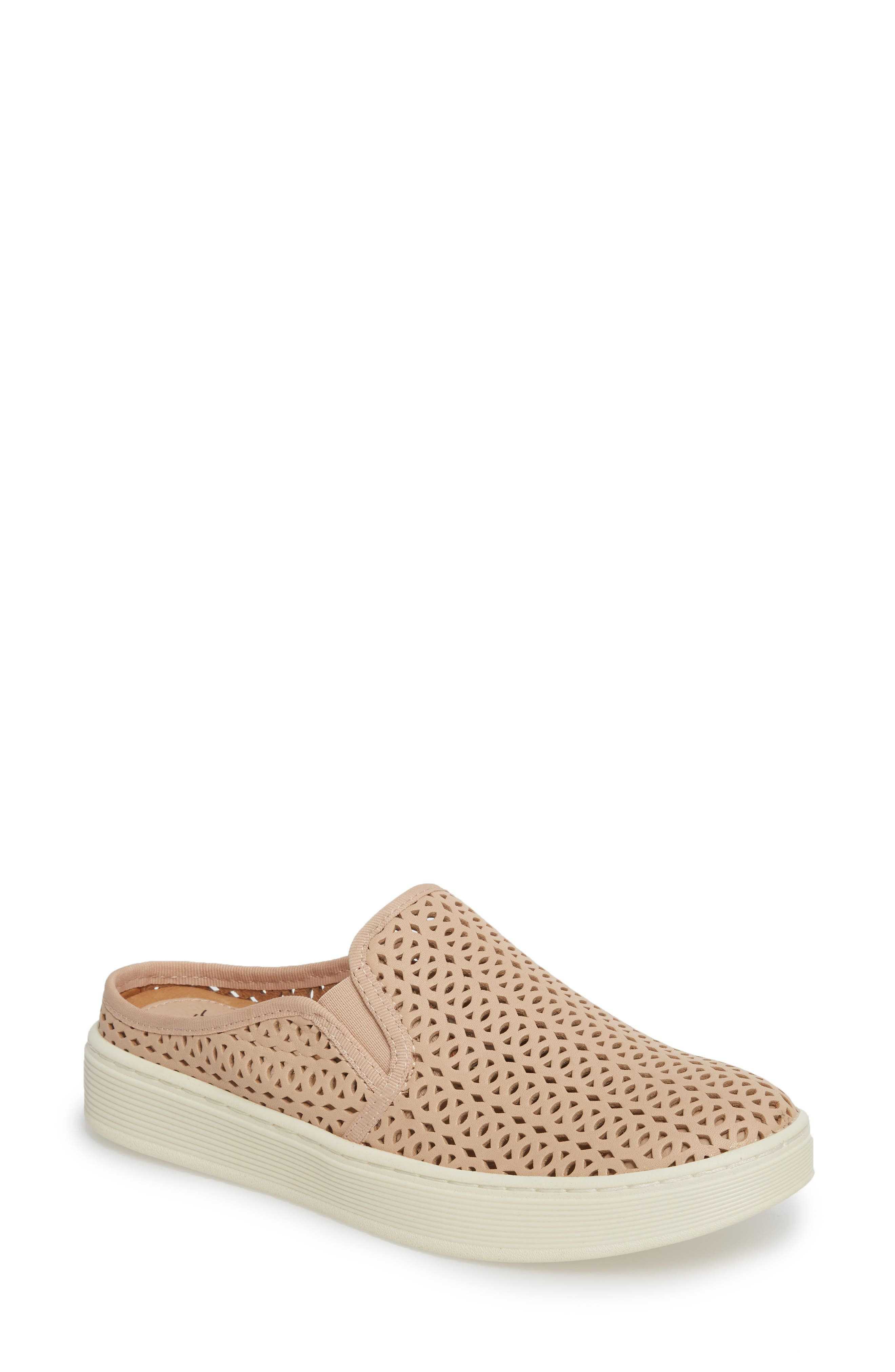 Somers II Sneaker Mule,                         Main,                         color, Blush Leather