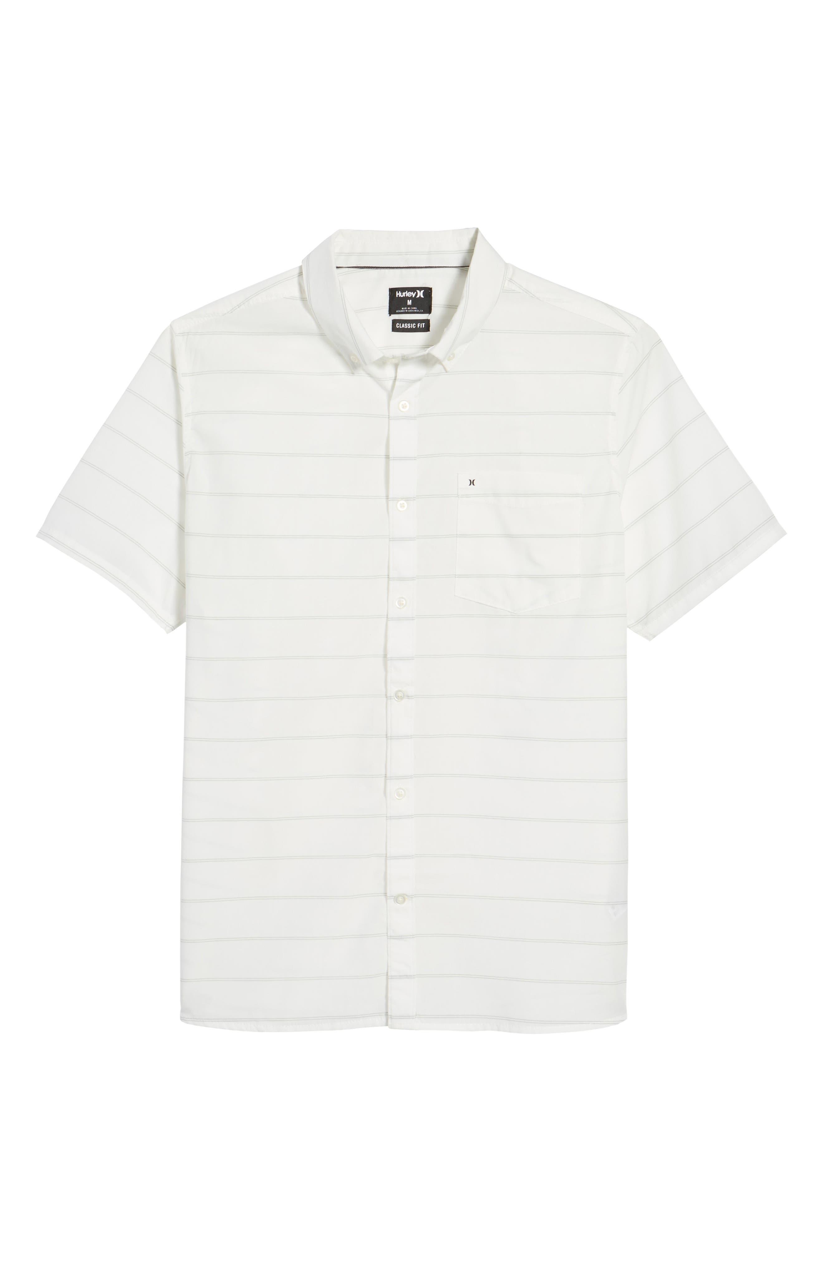 Reeder Dry Woven Shirt,                             Alternate thumbnail 6, color,                             Sail